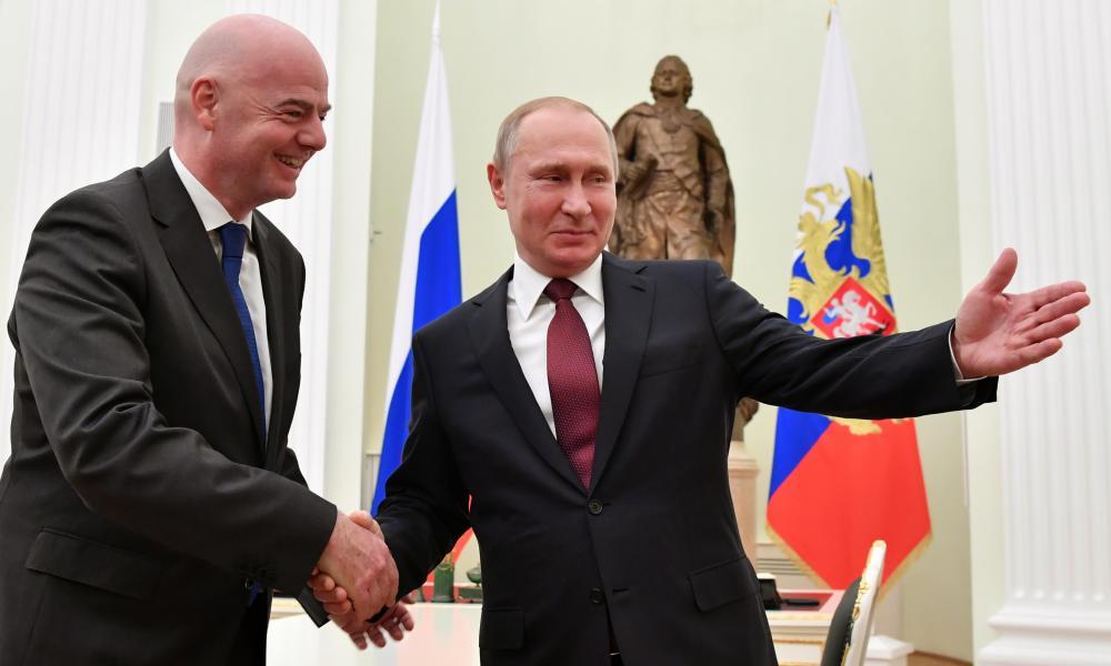 Infantino and Putin
