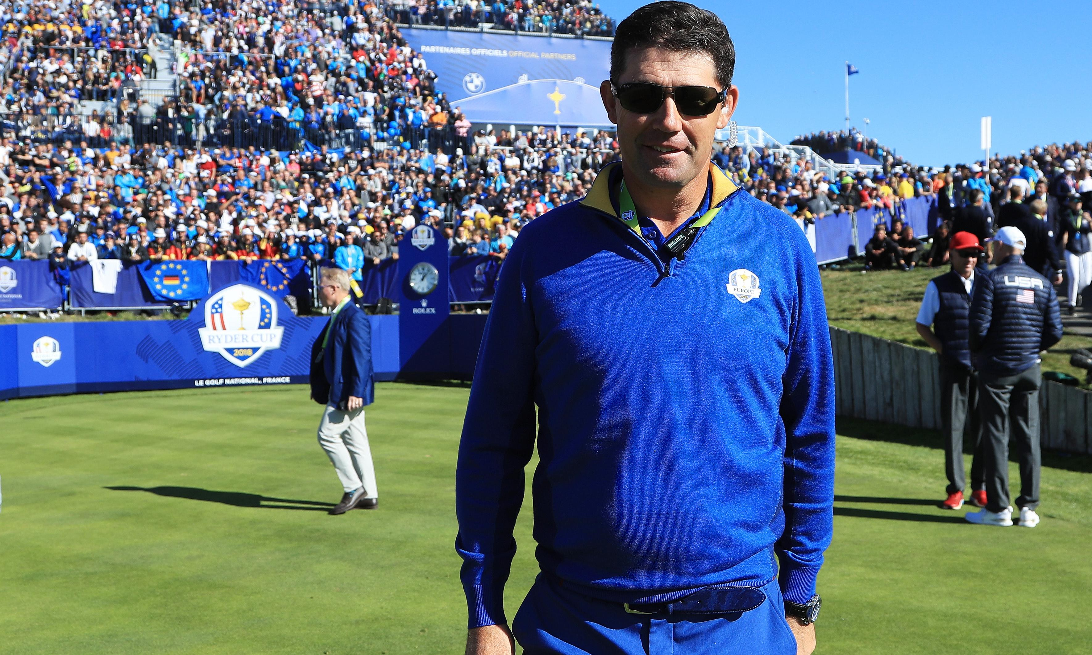 Padraig Harrington next in line to be Europe's Ryder Cup captain