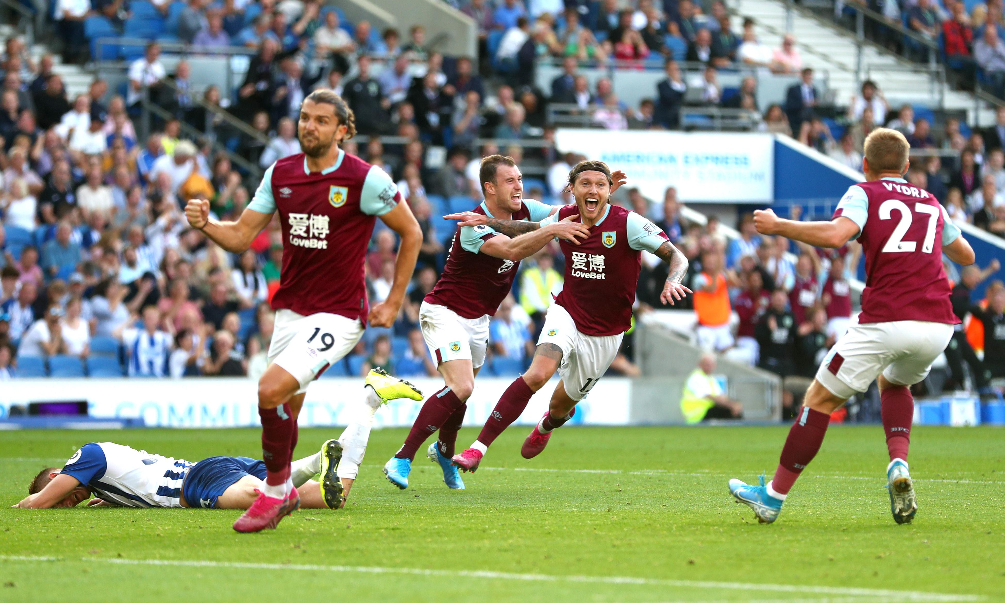 Burnley's Jeff Hendrick grabs a point to add to Brighton's home angst