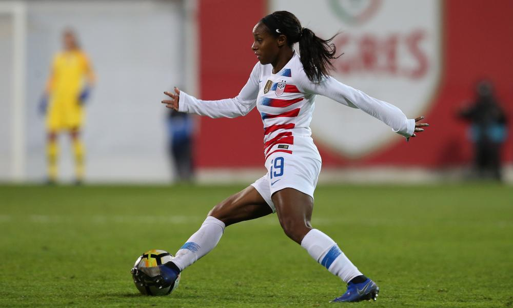 Crystal Dunn believes her time at Chelsea made her a 'well-rounded player'.