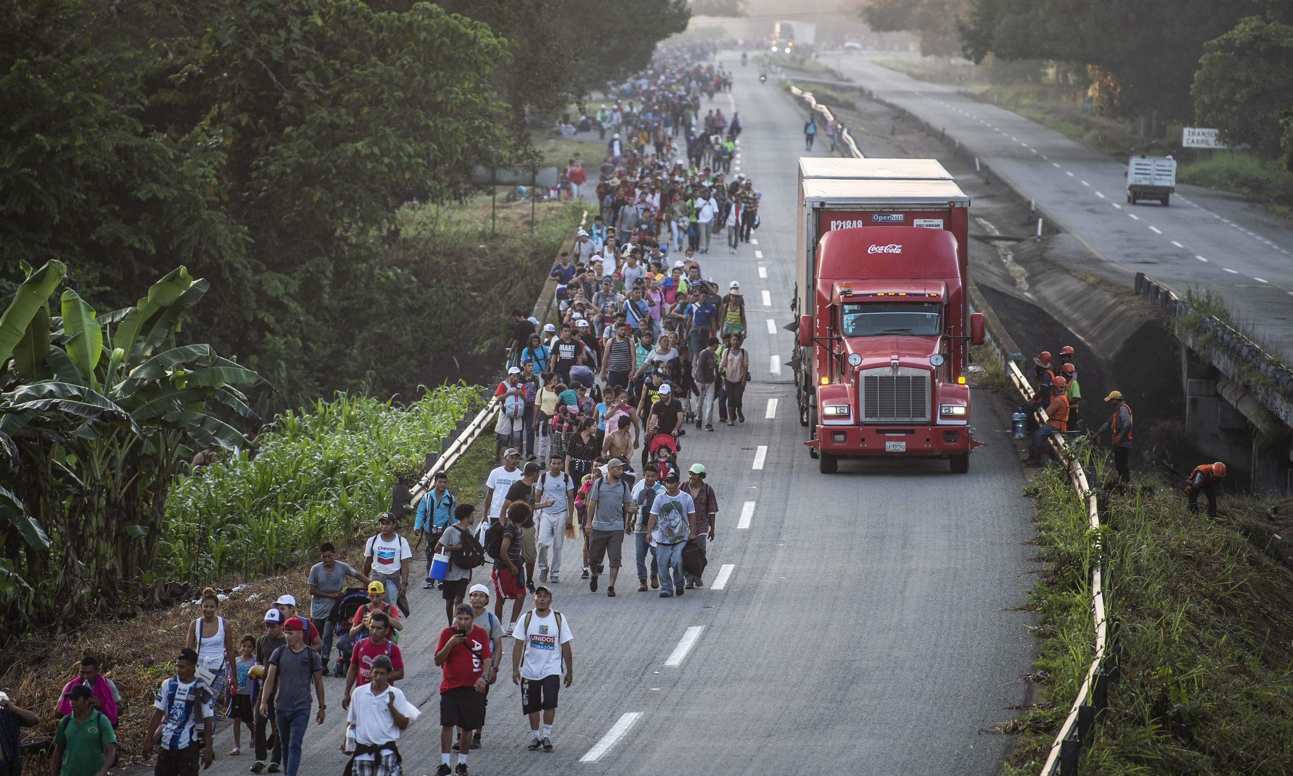 The Guardian view on the migrant convoy: a heroic journey