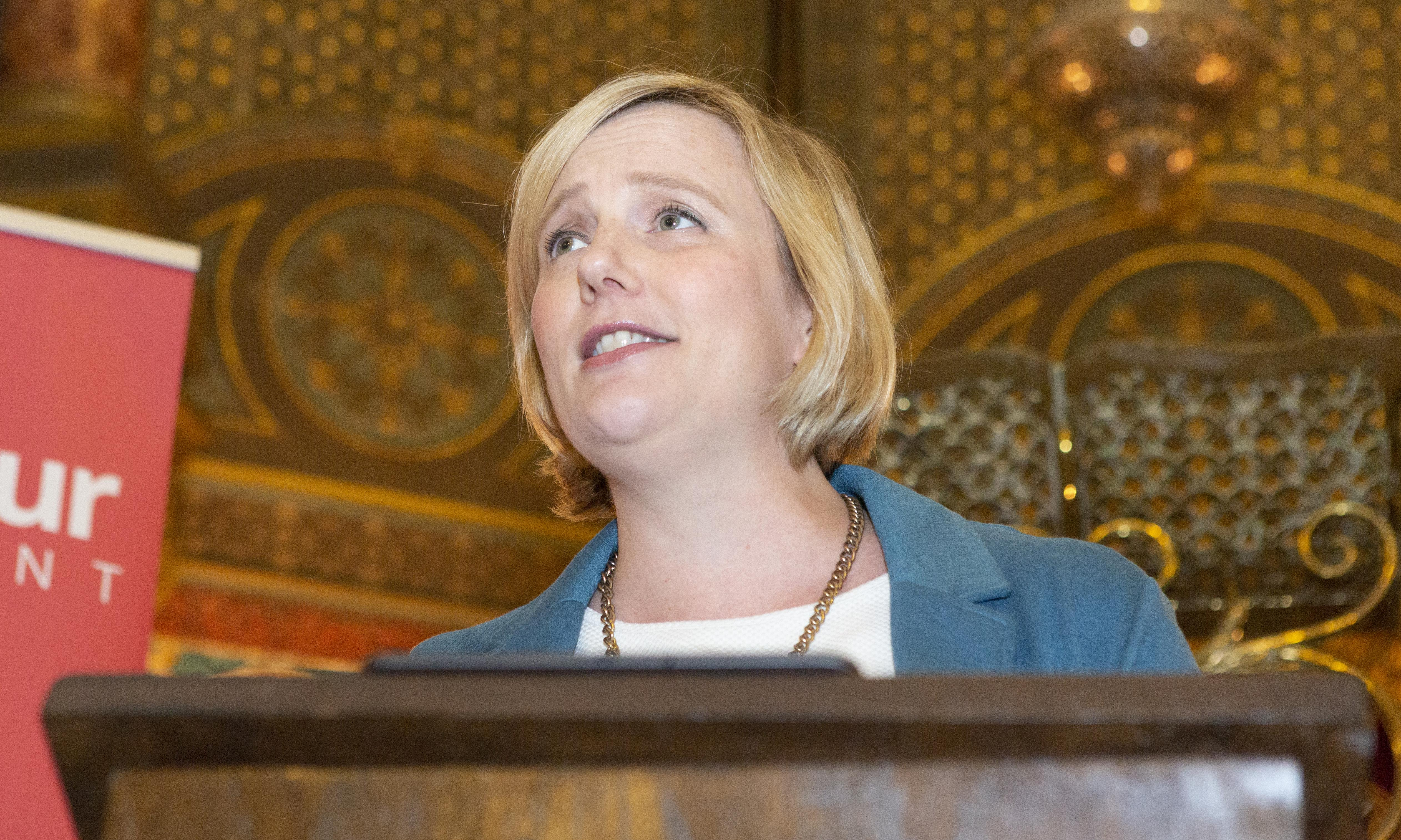 Police investigate 'extremist' targeting of Stella Creasy by anti-abortion group