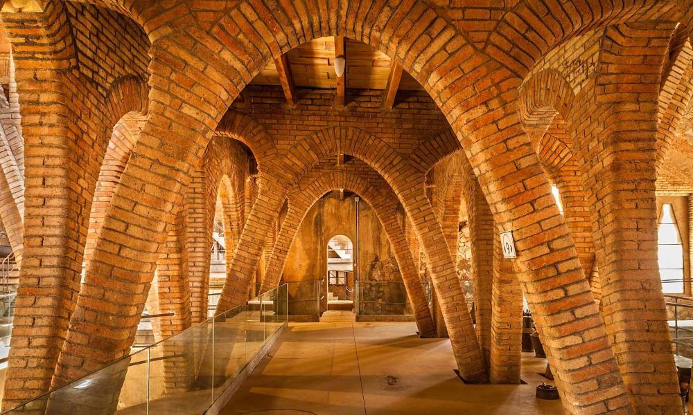 The Catedral del Vi at Pinell de Brai