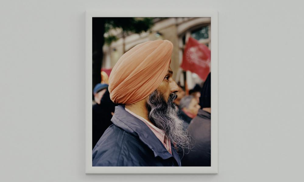 A shot from Ahluwalia's virtual exhibition.