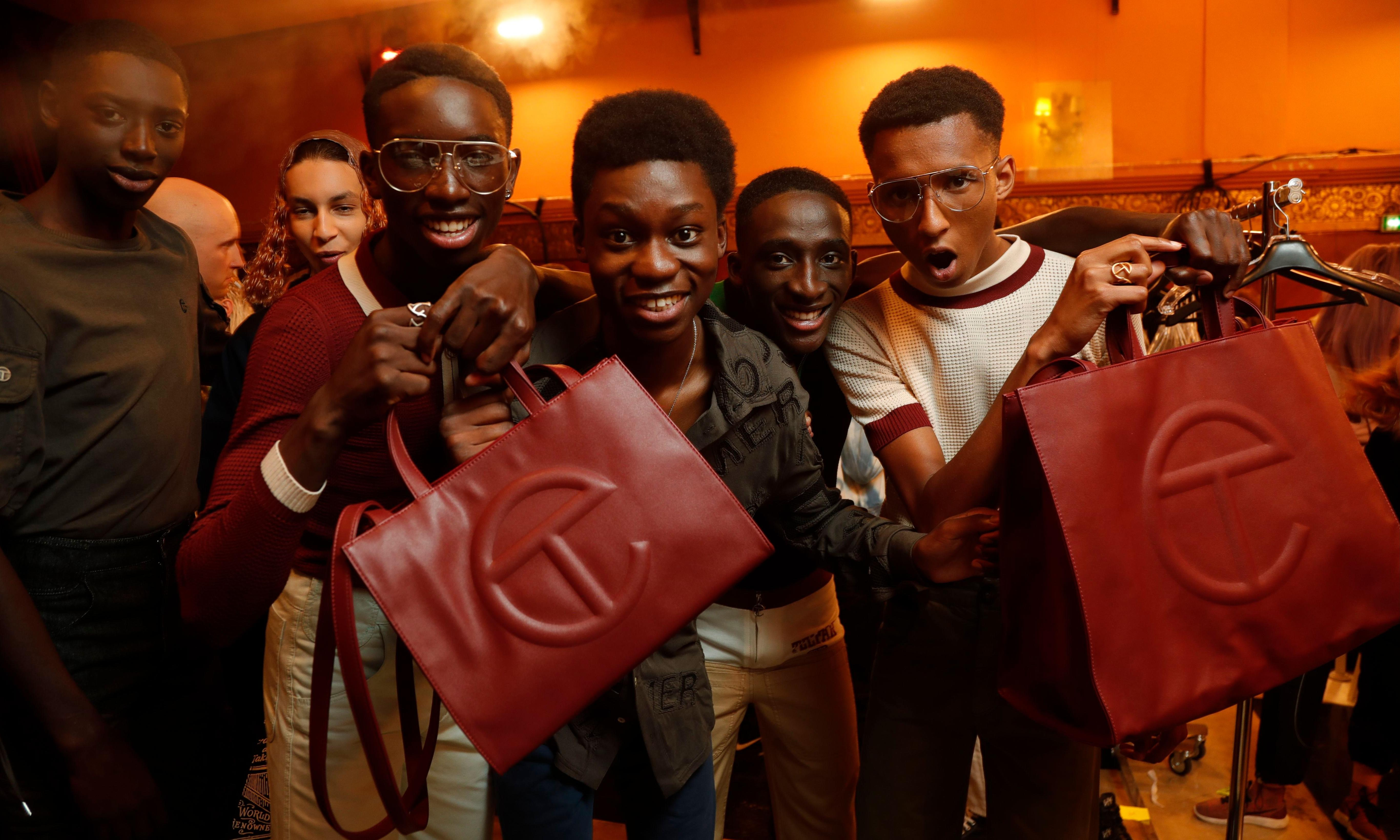 How Telfar's shopping bag became a symbol of fashion democracy