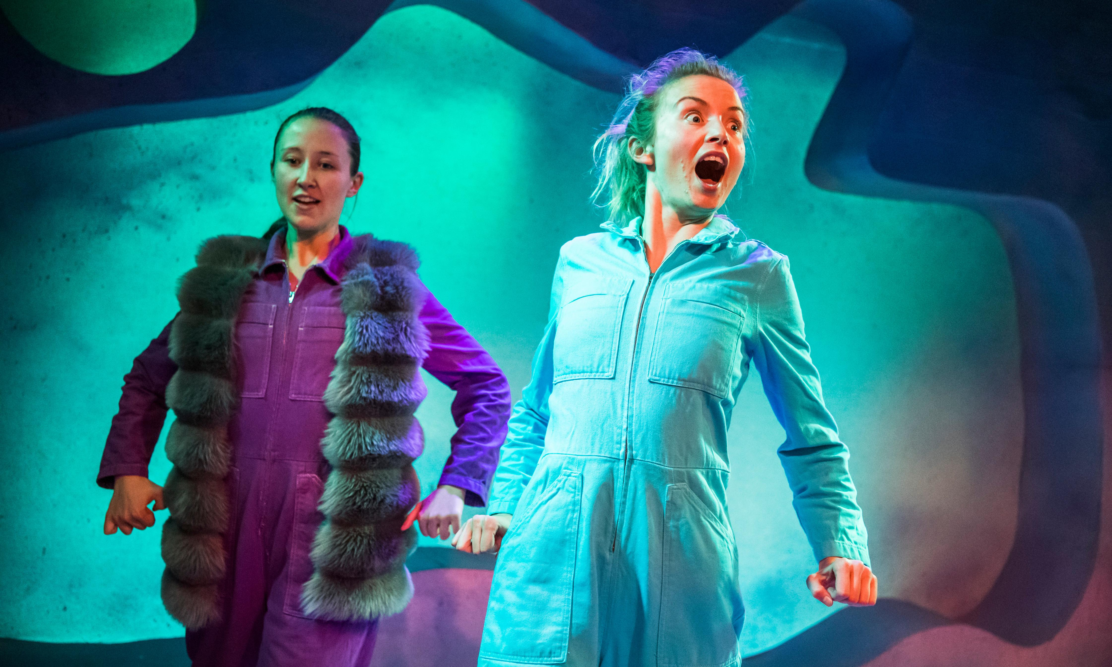 Wolfie review – Sisters Grimm weave a fairytale with a social conscience