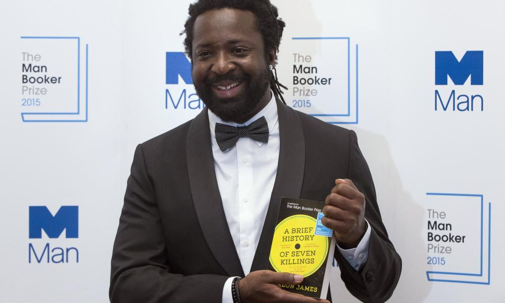James with the 2015 Man Booker prize.