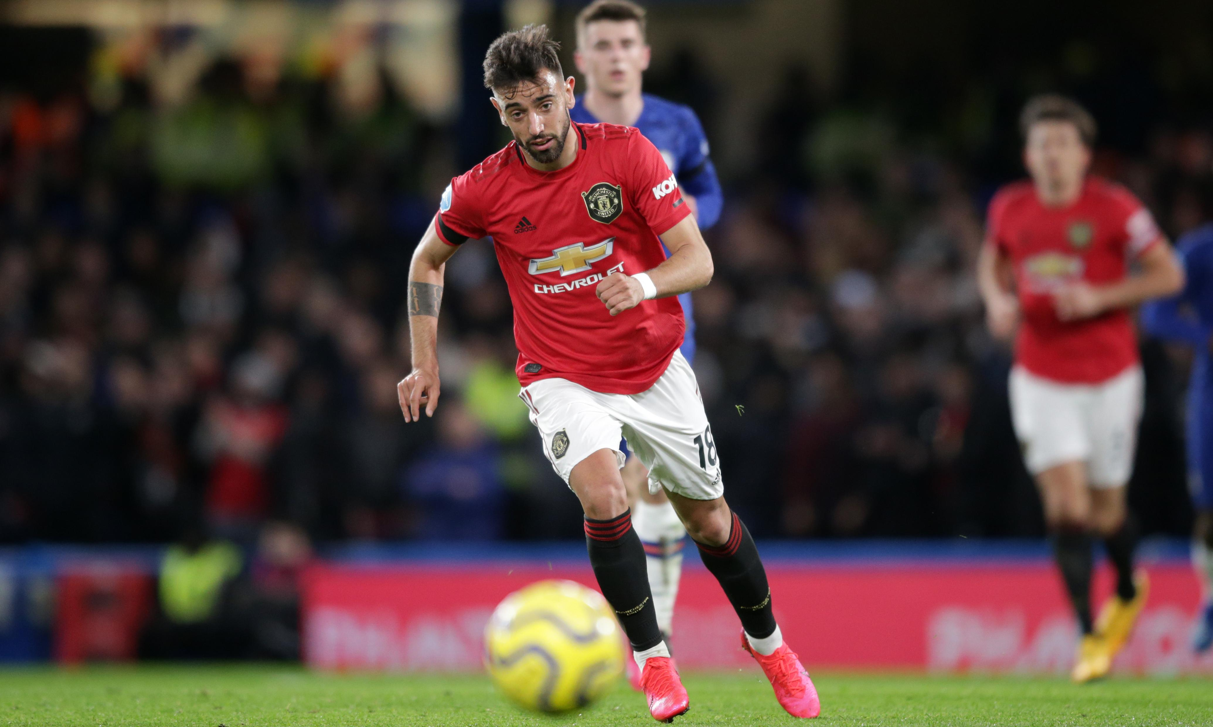Bruno Fernandes offers vision of a thrusting United midfield after so long
