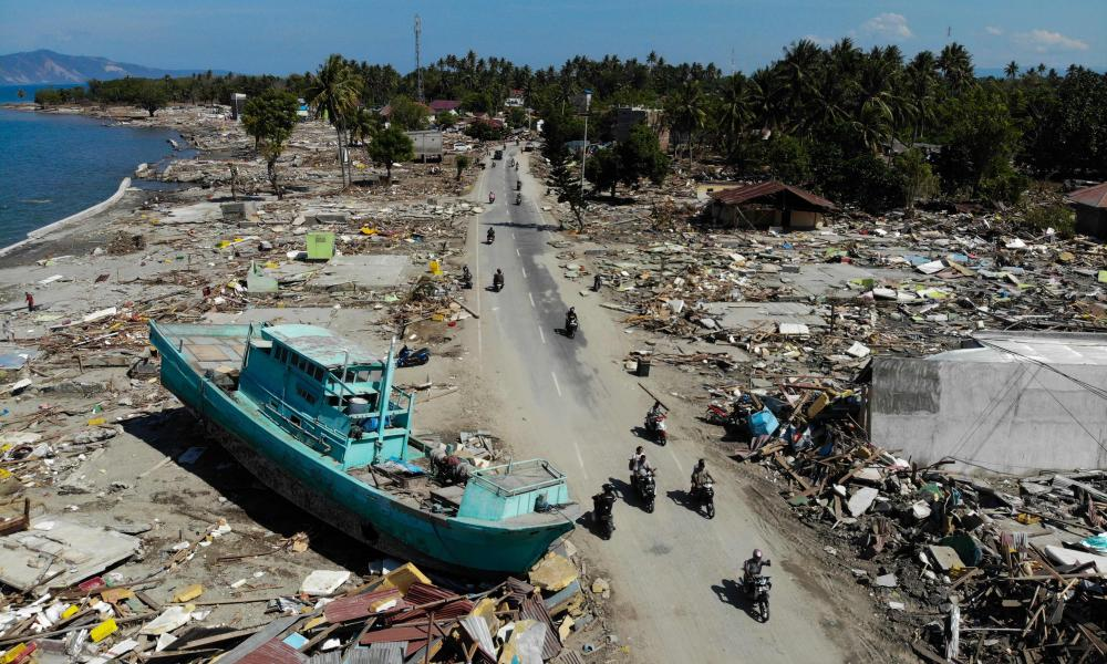 Palu earthquake and tsunami: what we know so far  Indonesia  The Guardian