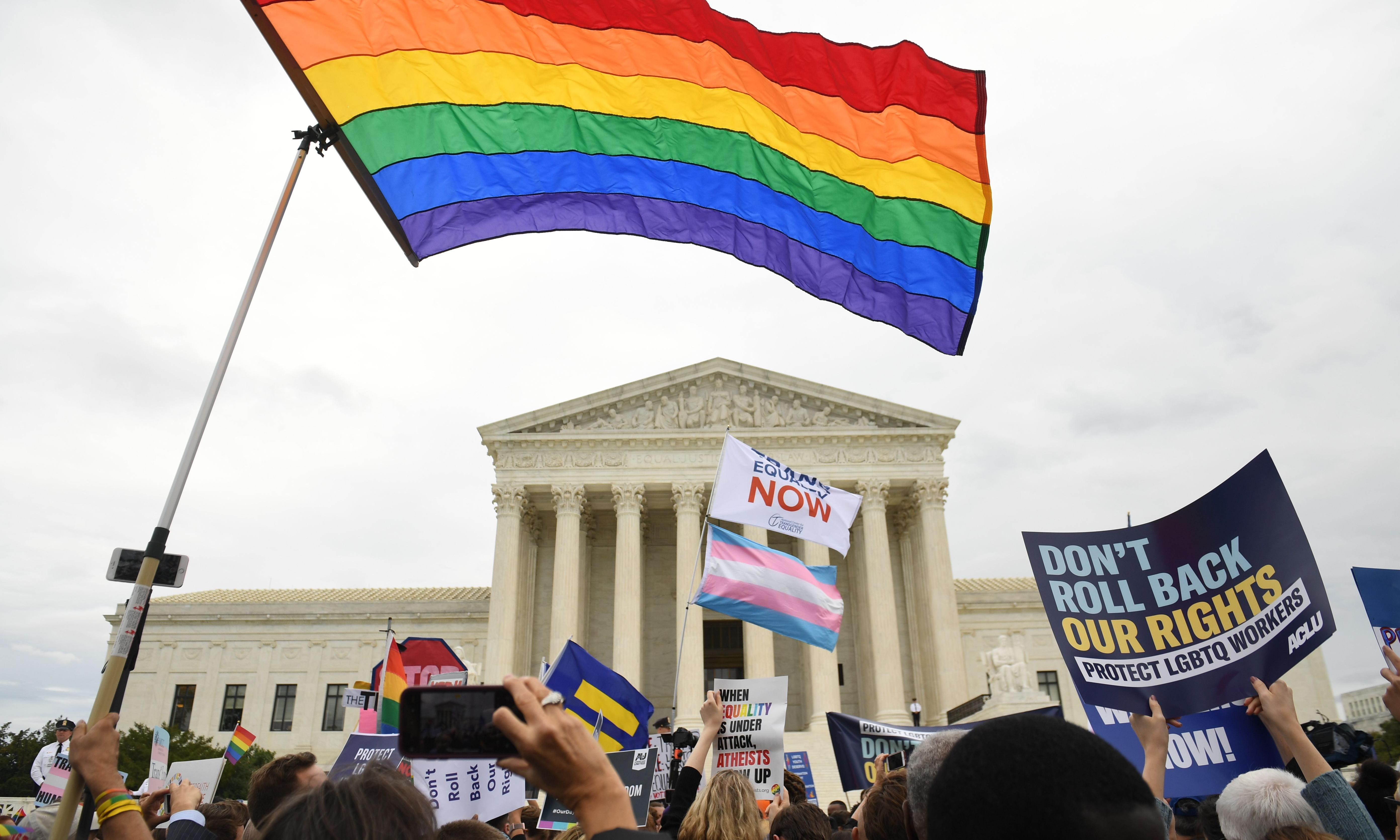 Will the US supreme court protect gay and trans people's rights at work?