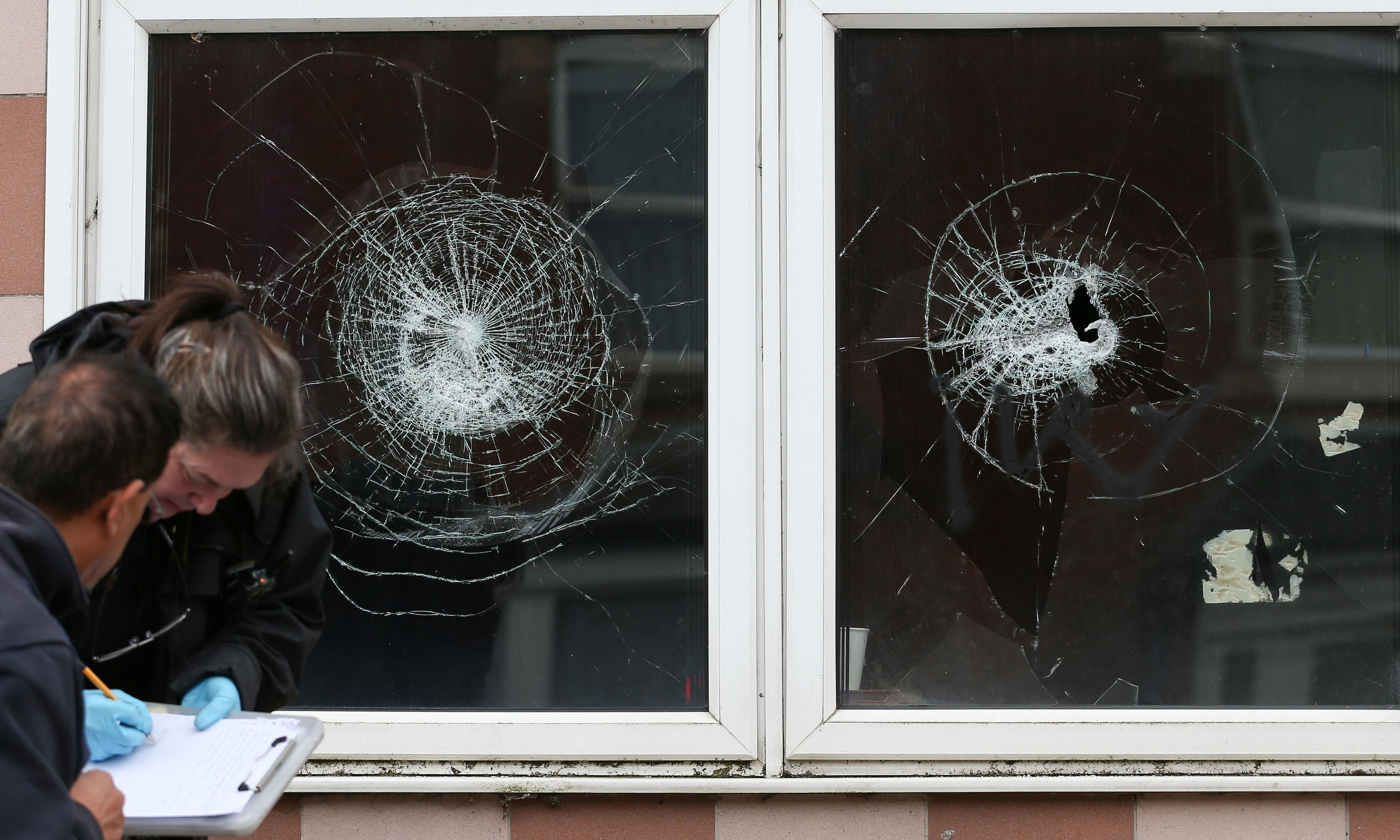 One man still held after windows smashed at Birmingham mosques
