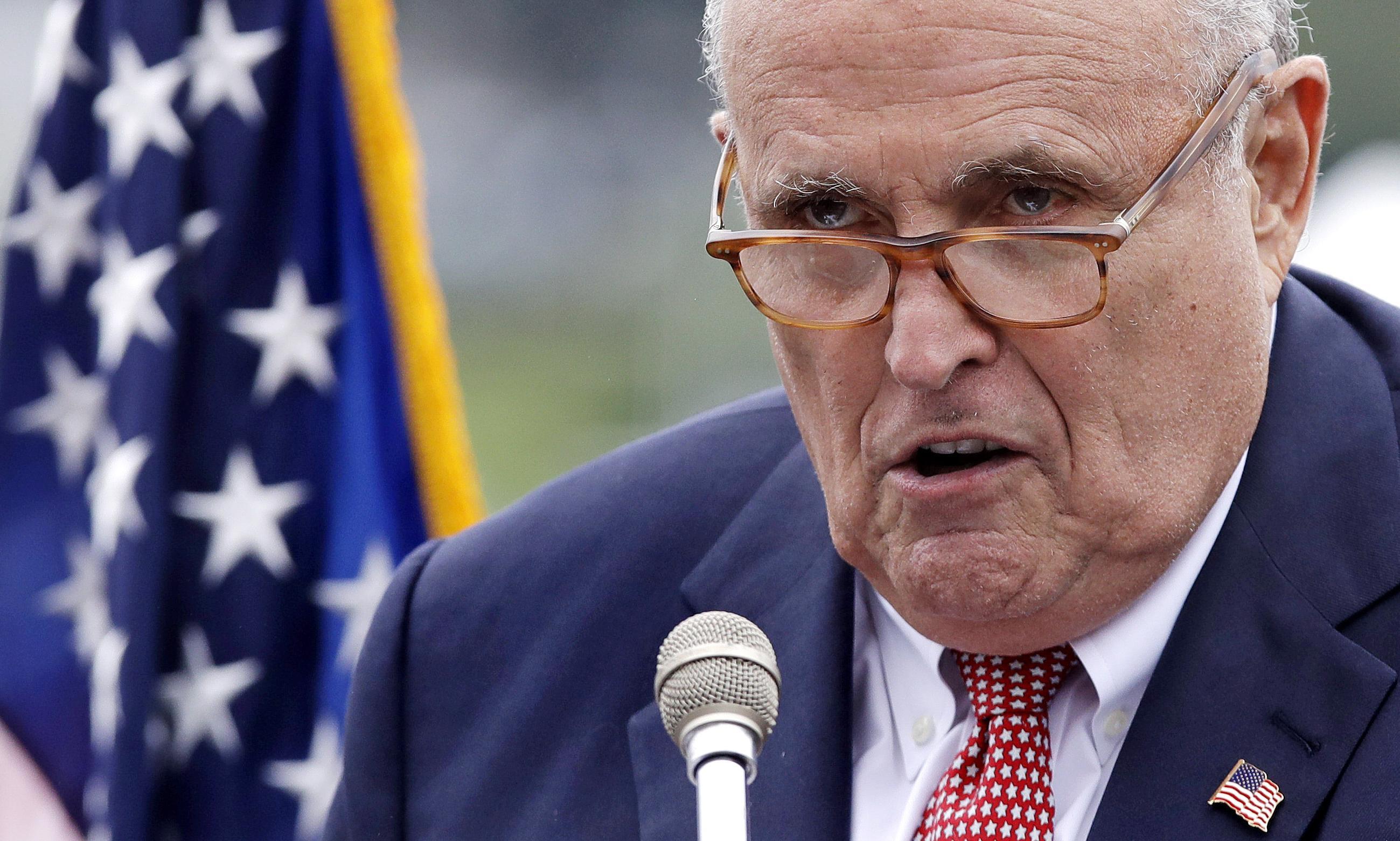 Rudy Giuliani is Donald Trump's real secretary of state