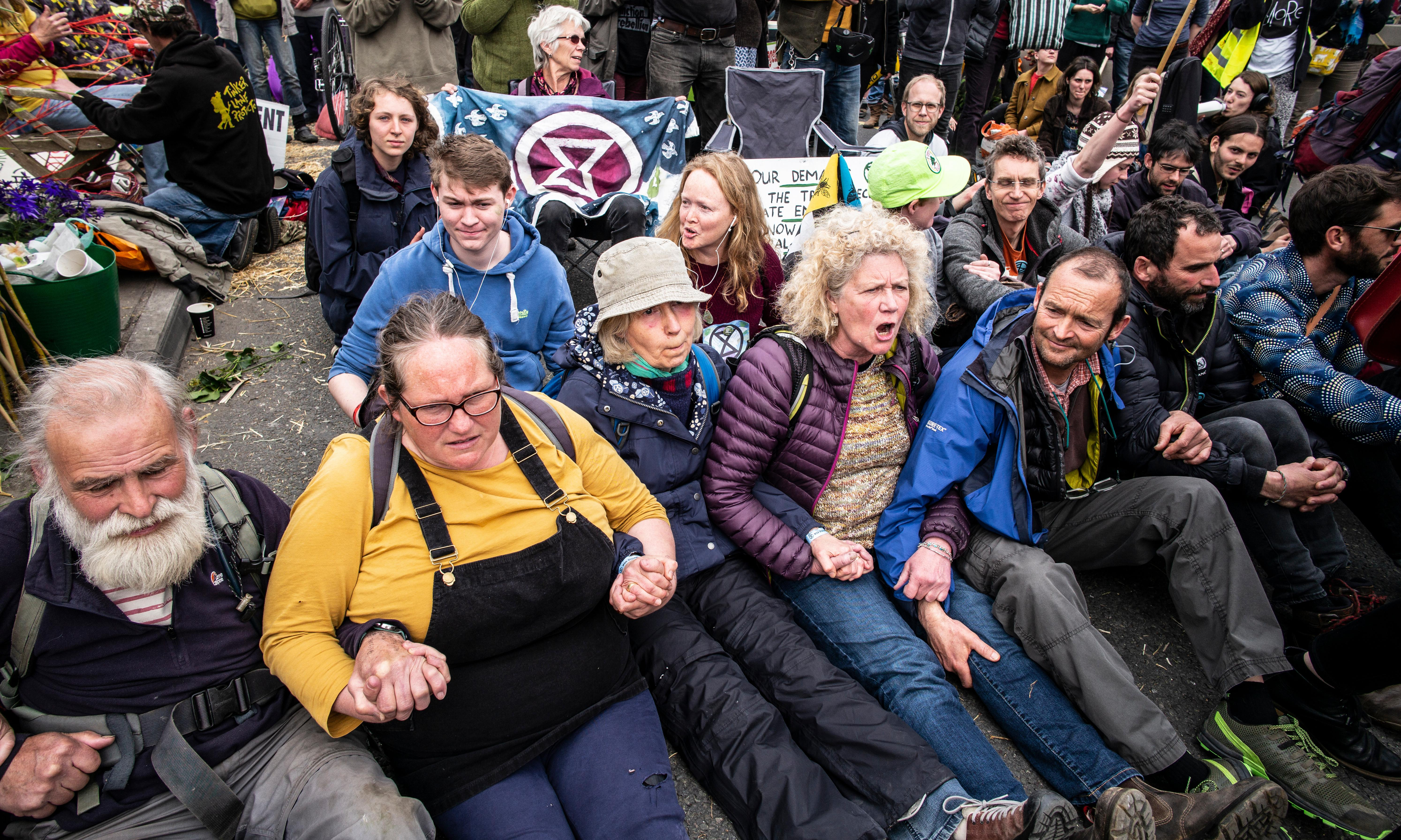 'I'm terrified': Extinction Rebellion activists on why they are protesting