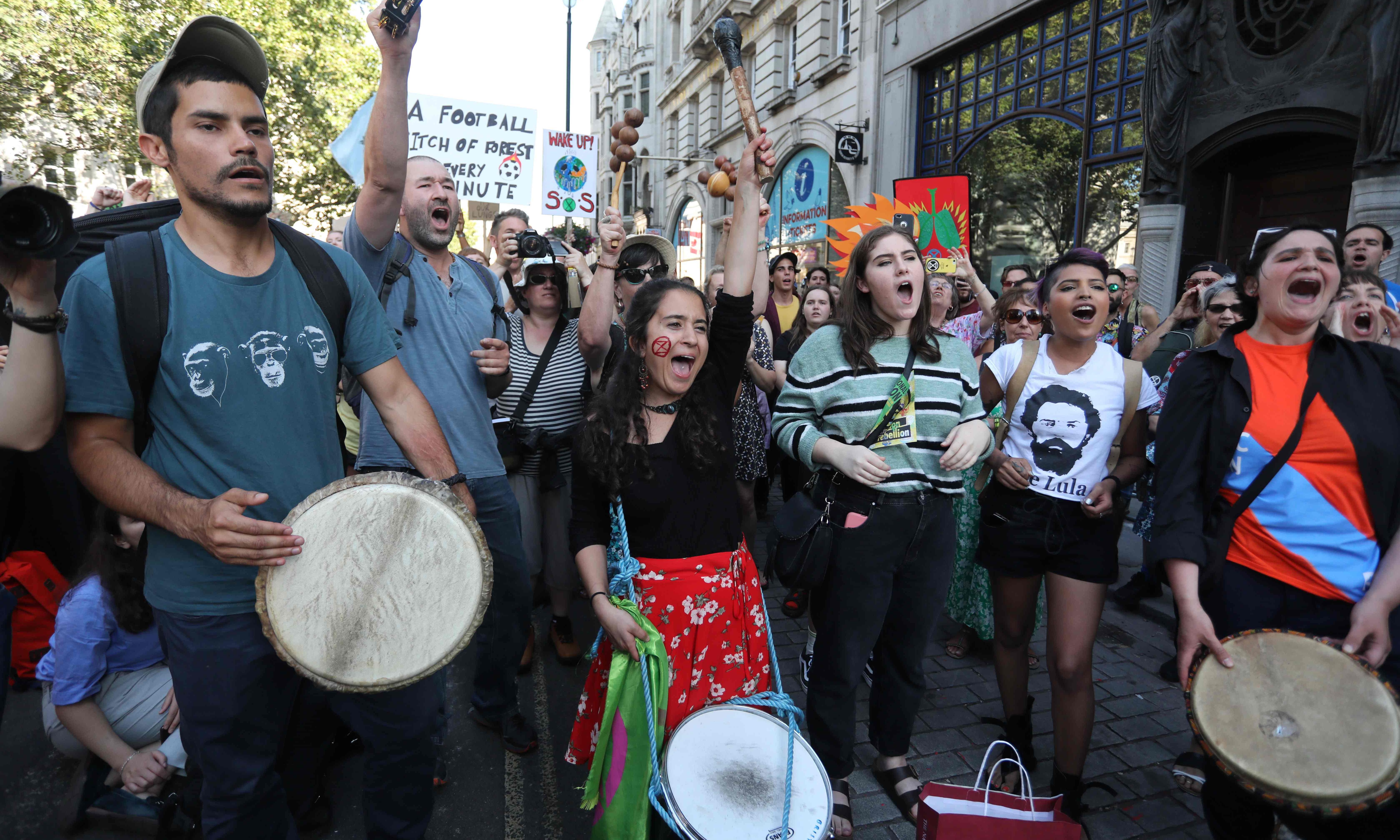 Protesters besiege Brazilian embassies worldwide over Amazon fires