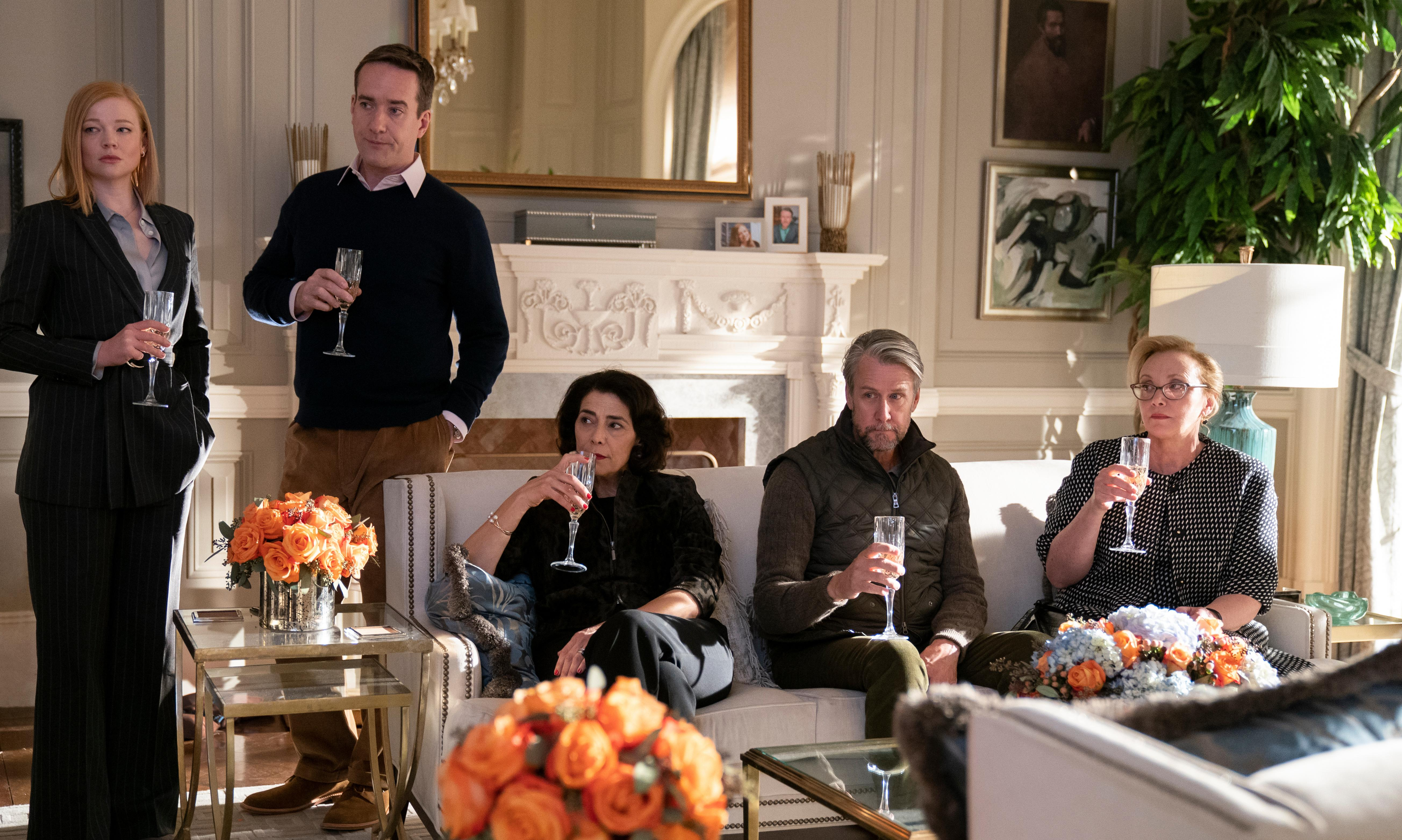 Behind the scenes of Succession's stealth wealth fashion