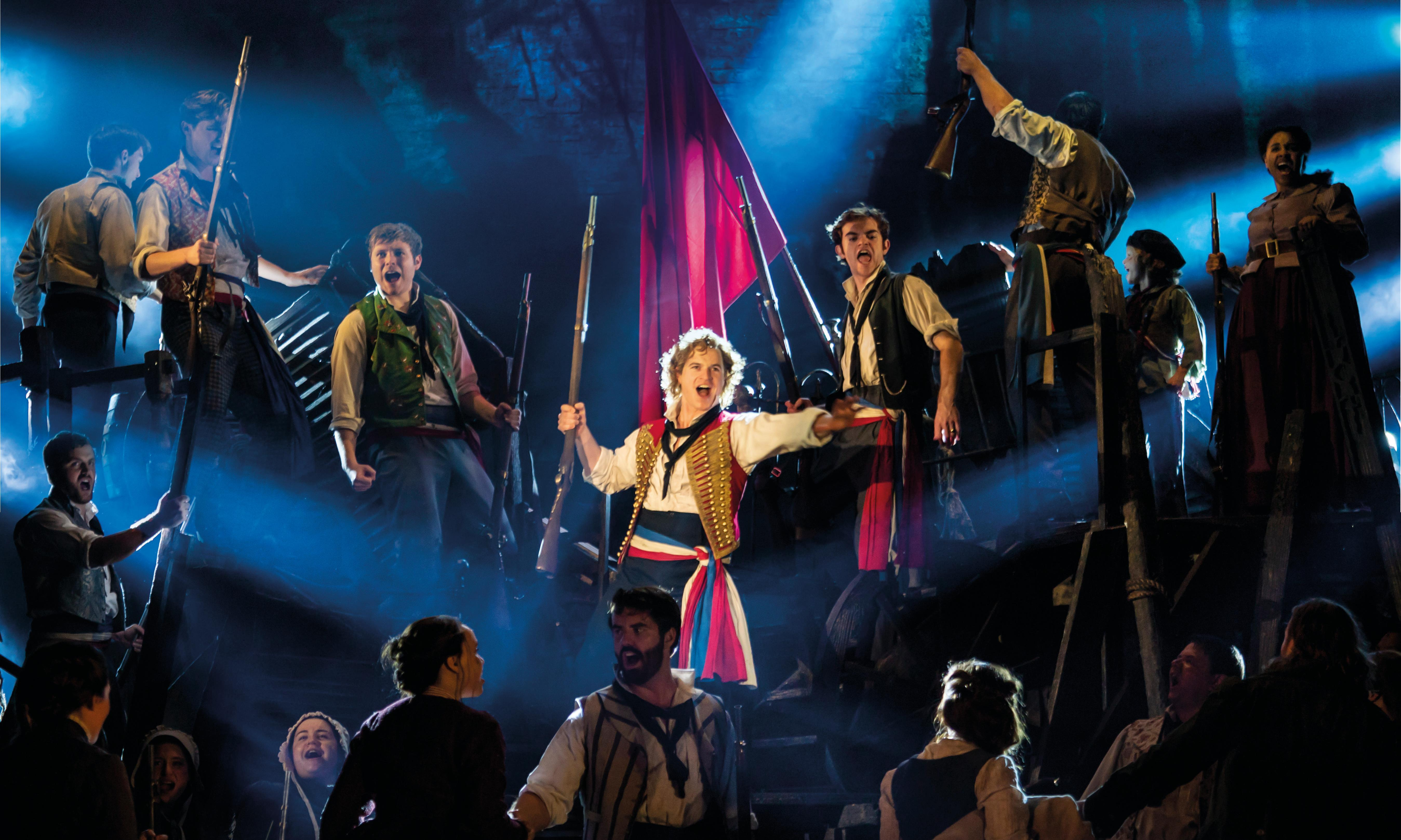 Les Misérables review – just hear these people sing!