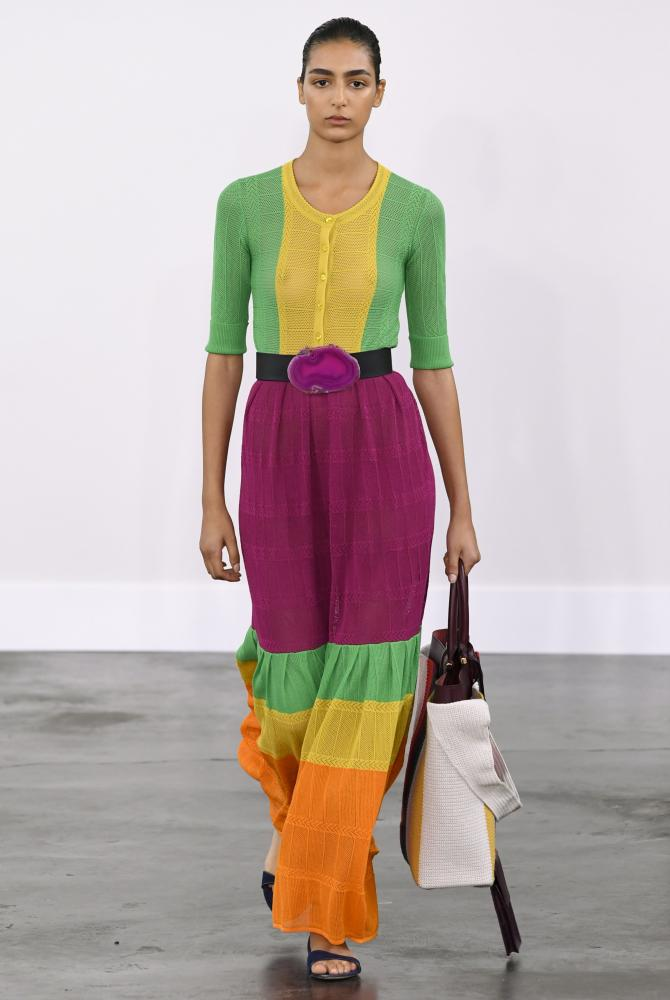 The Gabriela Hearst show SS20 at New York fashion week.