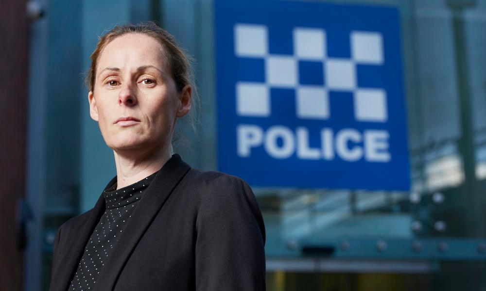Detective Chief Inspector Lisa Theaker, who was in charge of the murder investigation.