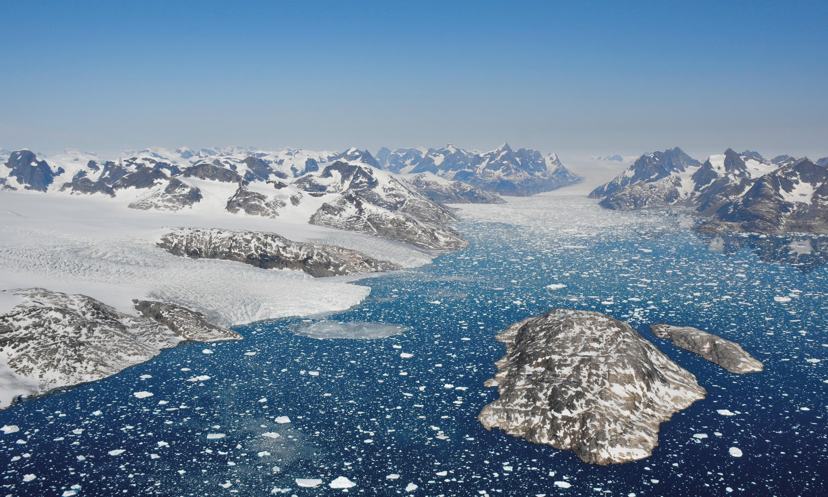 Greenland's ice sheet melting seven times faster than in 1990s