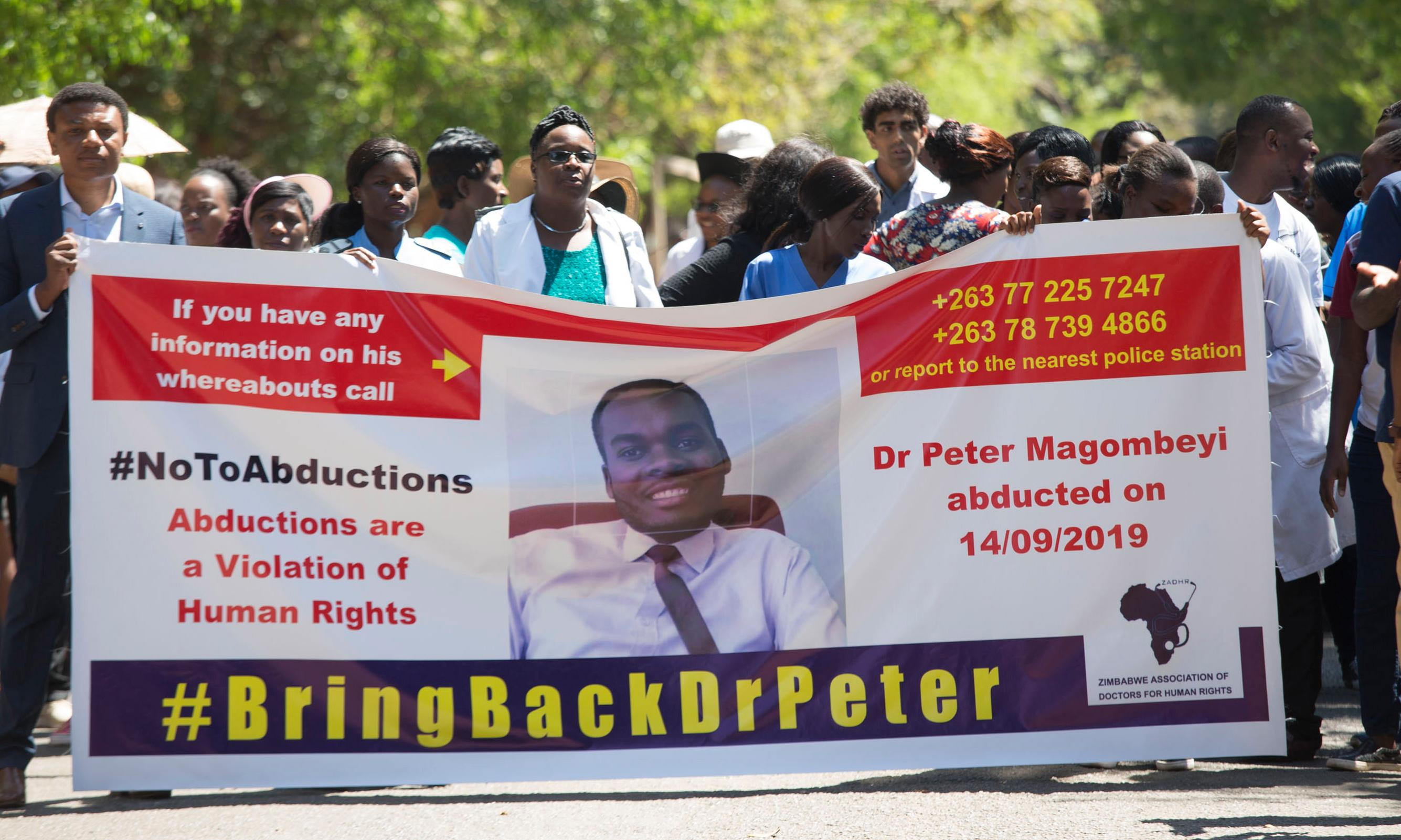 Zimbabwe union leader found alive after reported abduction