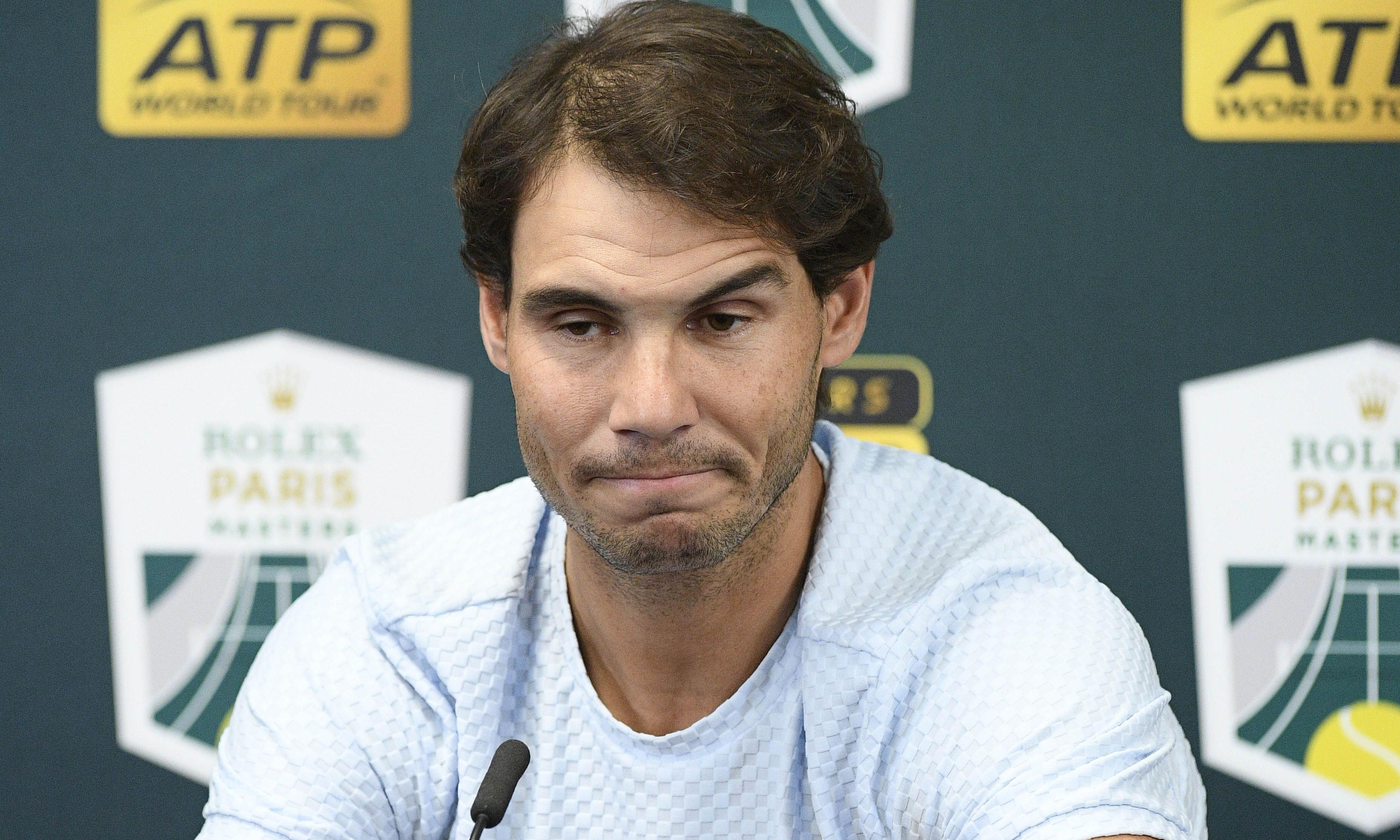 Rafael Nadal pulls out of ATP Finals and to undergo ankle surgery