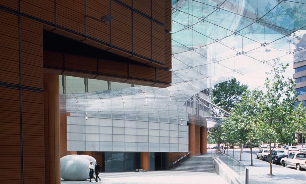 Renzo Piano Building, Aurora Place, Sydney, Australia.