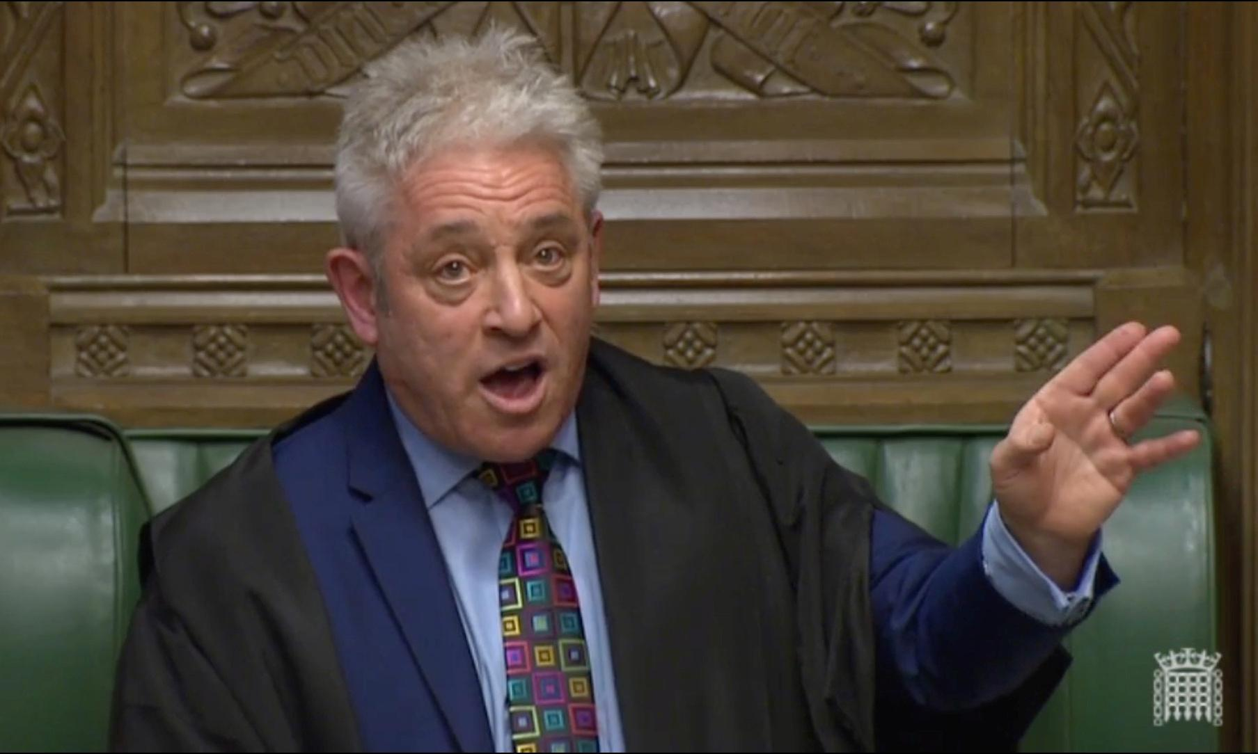 Bercow's blast of fresh air through the House of Commons