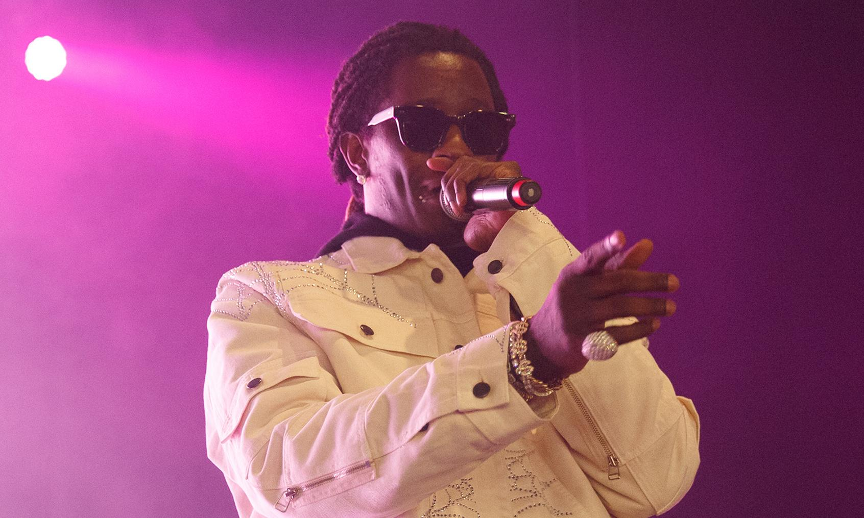 Young Thug review – rap outlier tries to stave off boredom