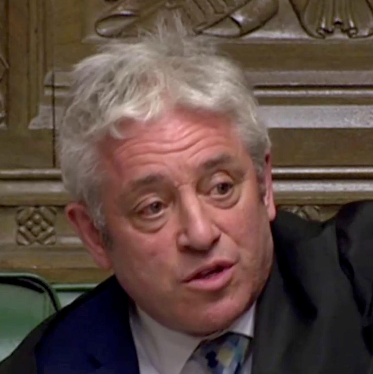 Brexit: John Bercow rules out third meaningful vote on same deal