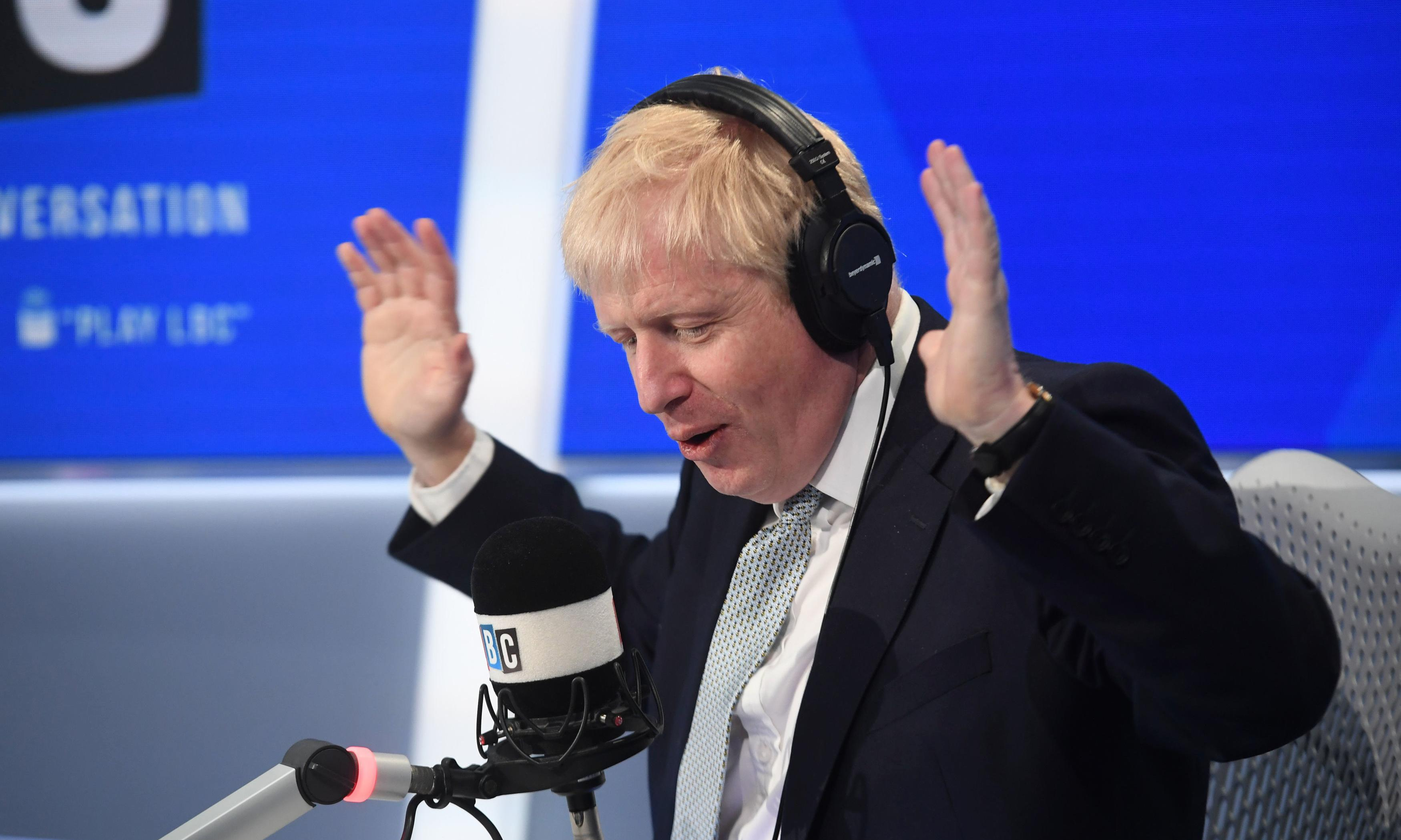 Boris Johnson takes to airwaves to lie, lie and lie again
