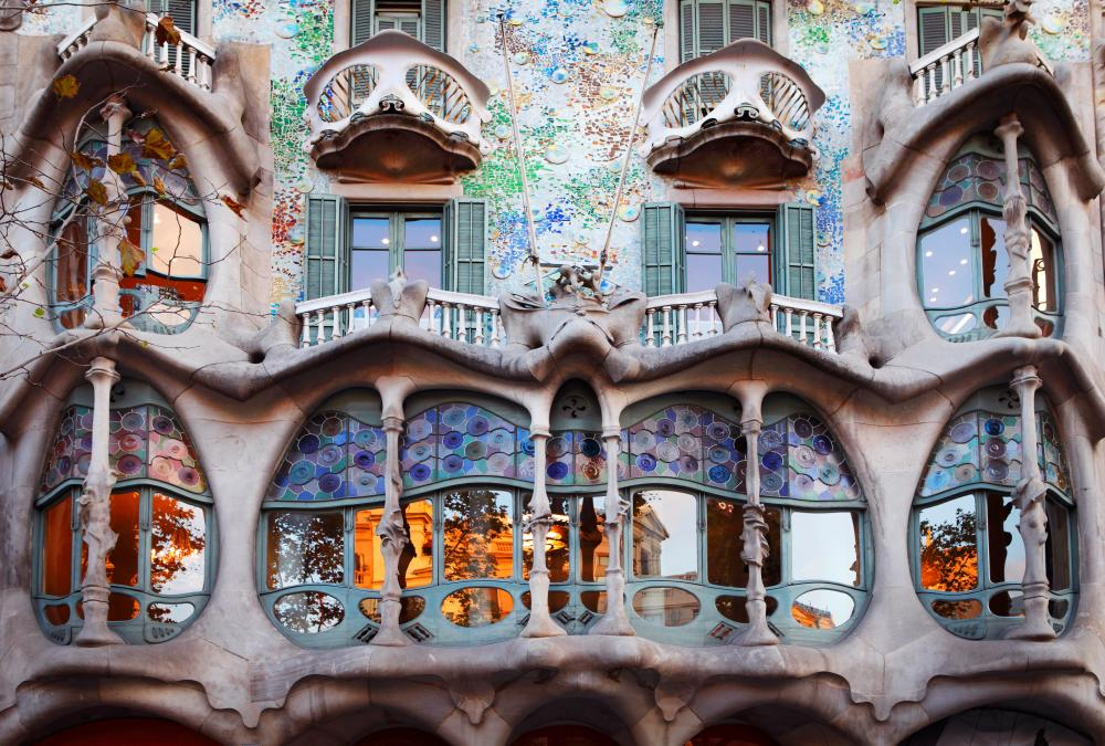 Antoni Gaudi's Casa Batlló.