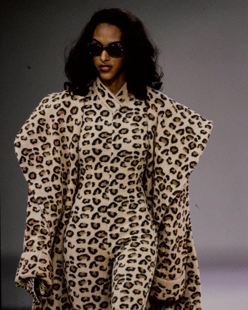 Alaïa's pret a porter show, Paris 1991.