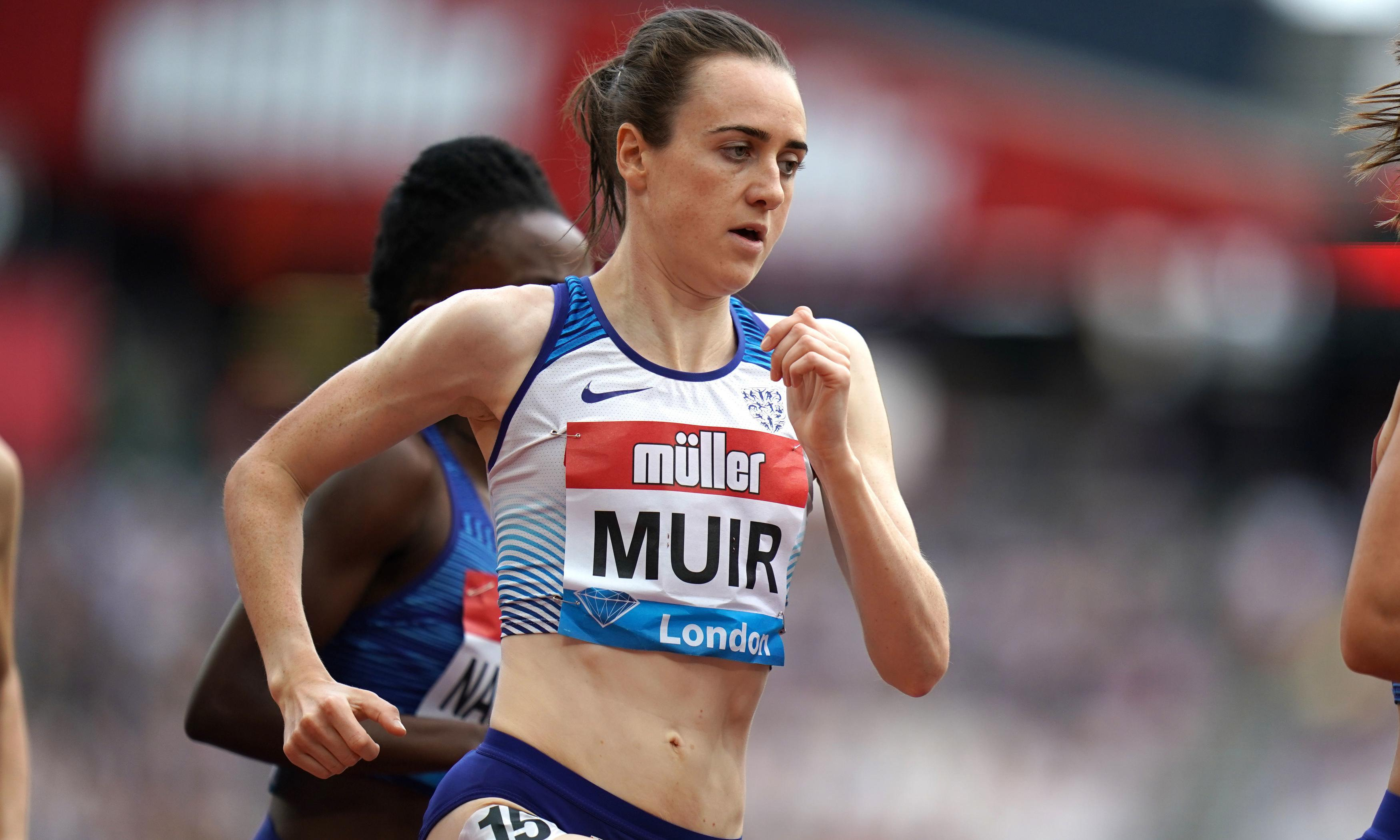 Laura Muir cruises to 1500m victory at Anniversary Games