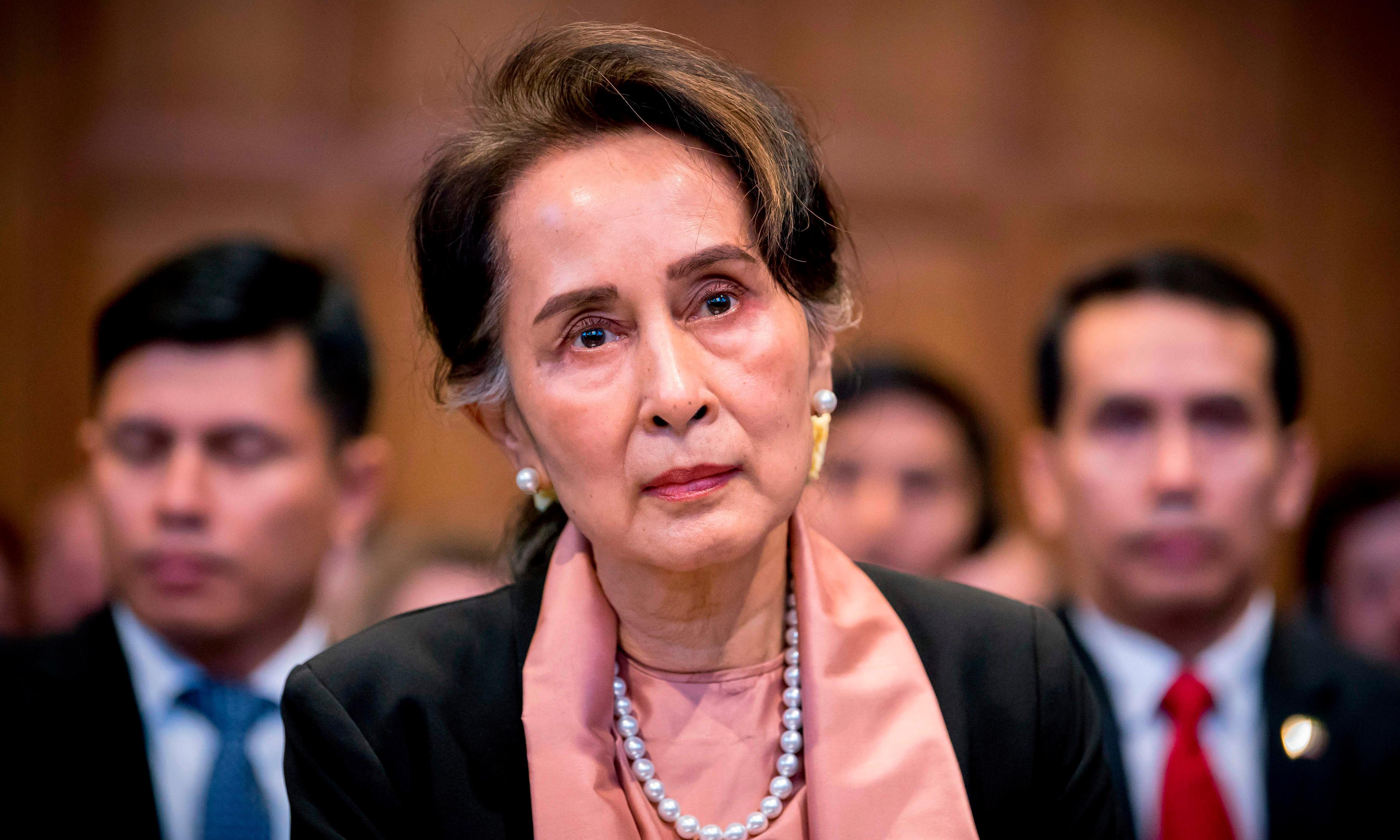 Rohingya fury at Aung San Suu Kyi's genocide denial to world court