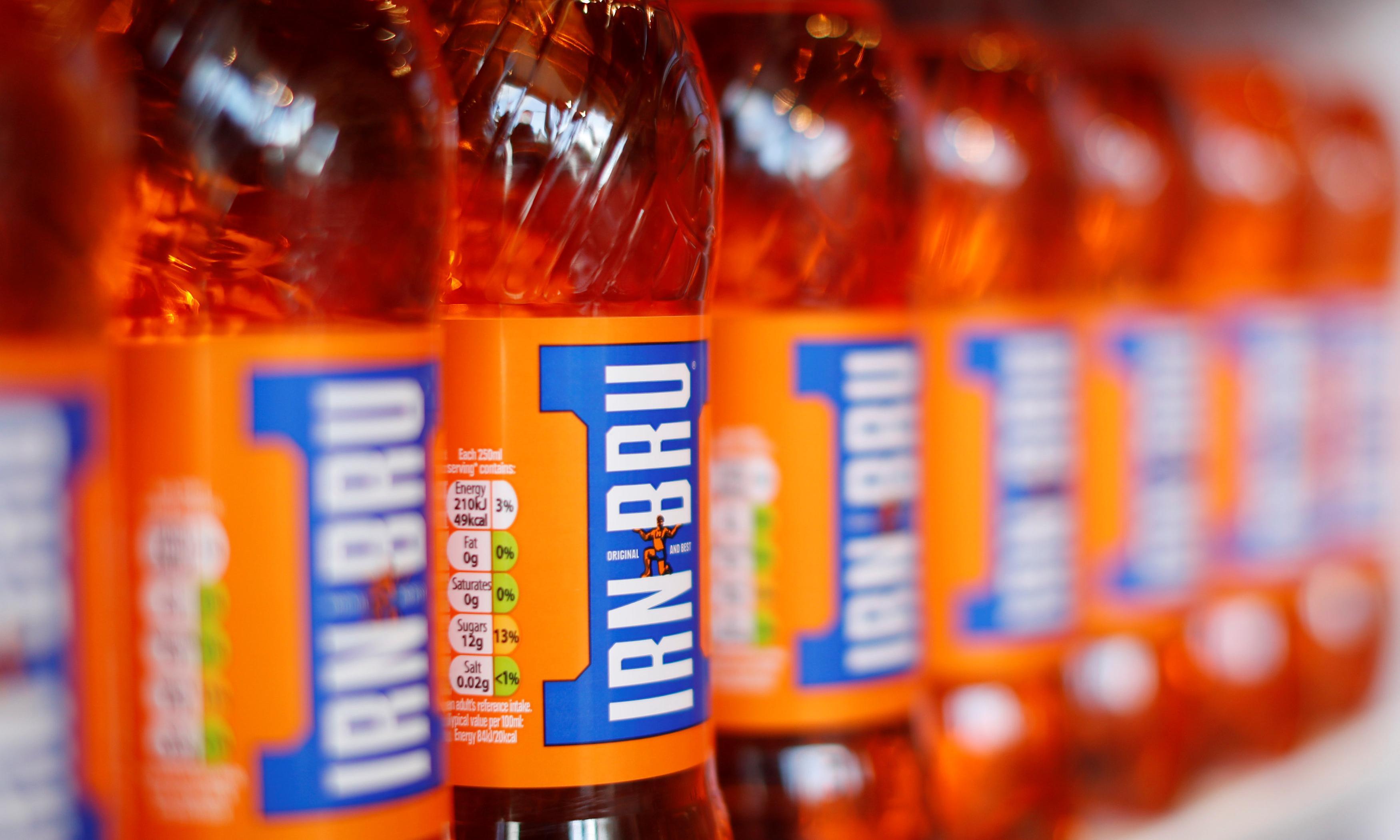 Irn-Bru maker warns over profits after bad weather and sugar tax