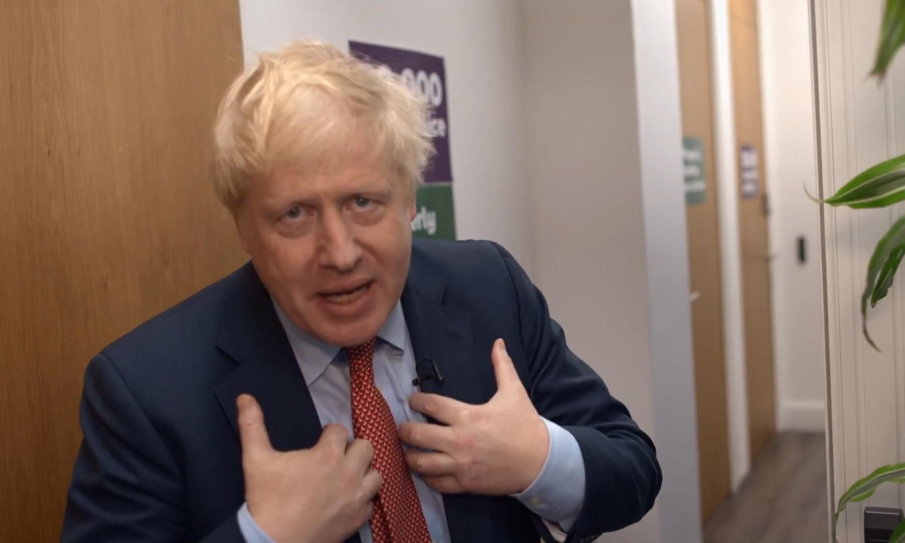 Boris Johnson's Vogue-style campaign video sparks comparisons with David Brent