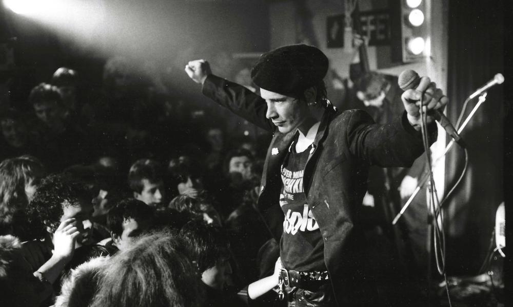 Sex Pistols performing in Huddersfield