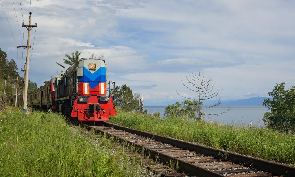 Trans Sib Track Trans-Siberian Safari, Russia