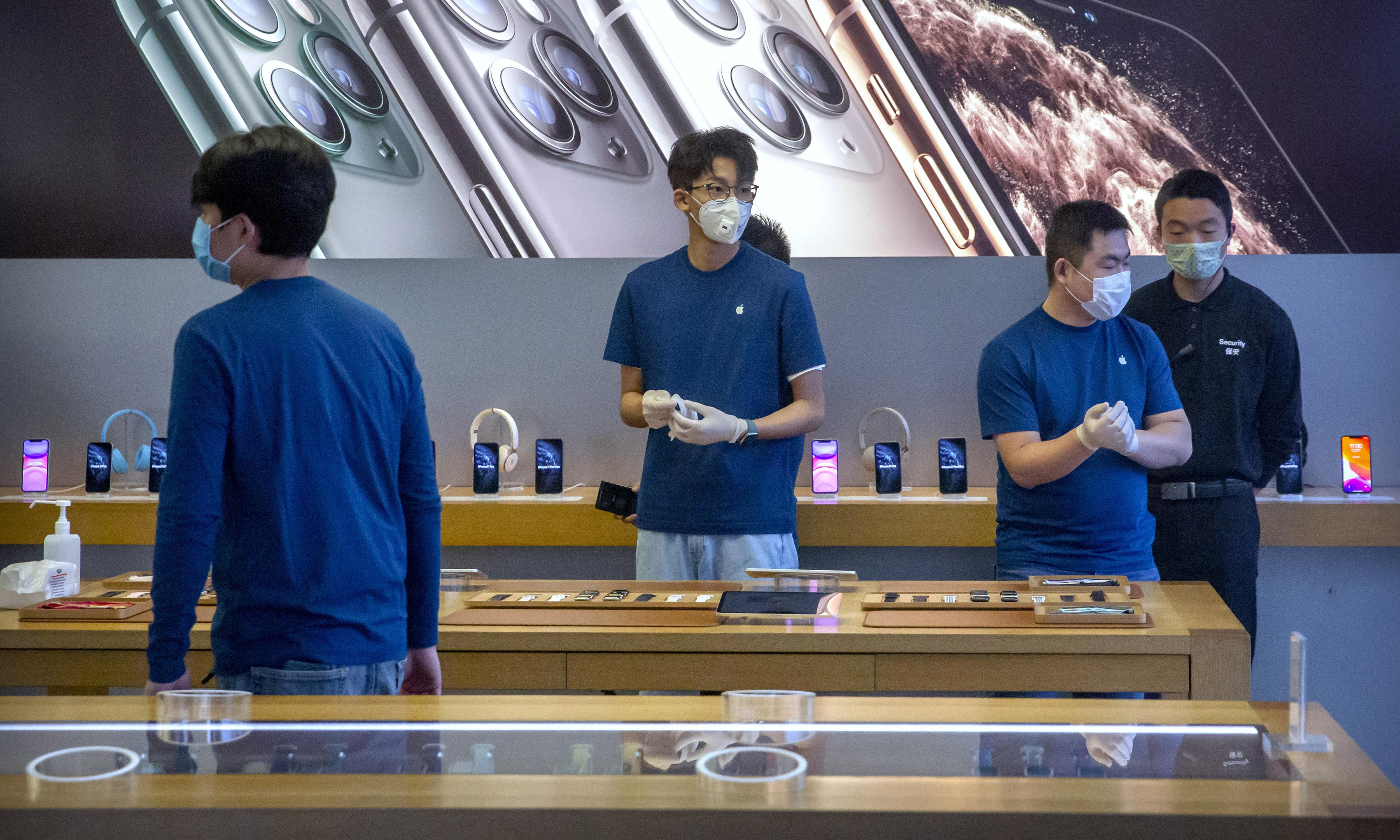 Apple warns of coronavirus causing iPhone shortages