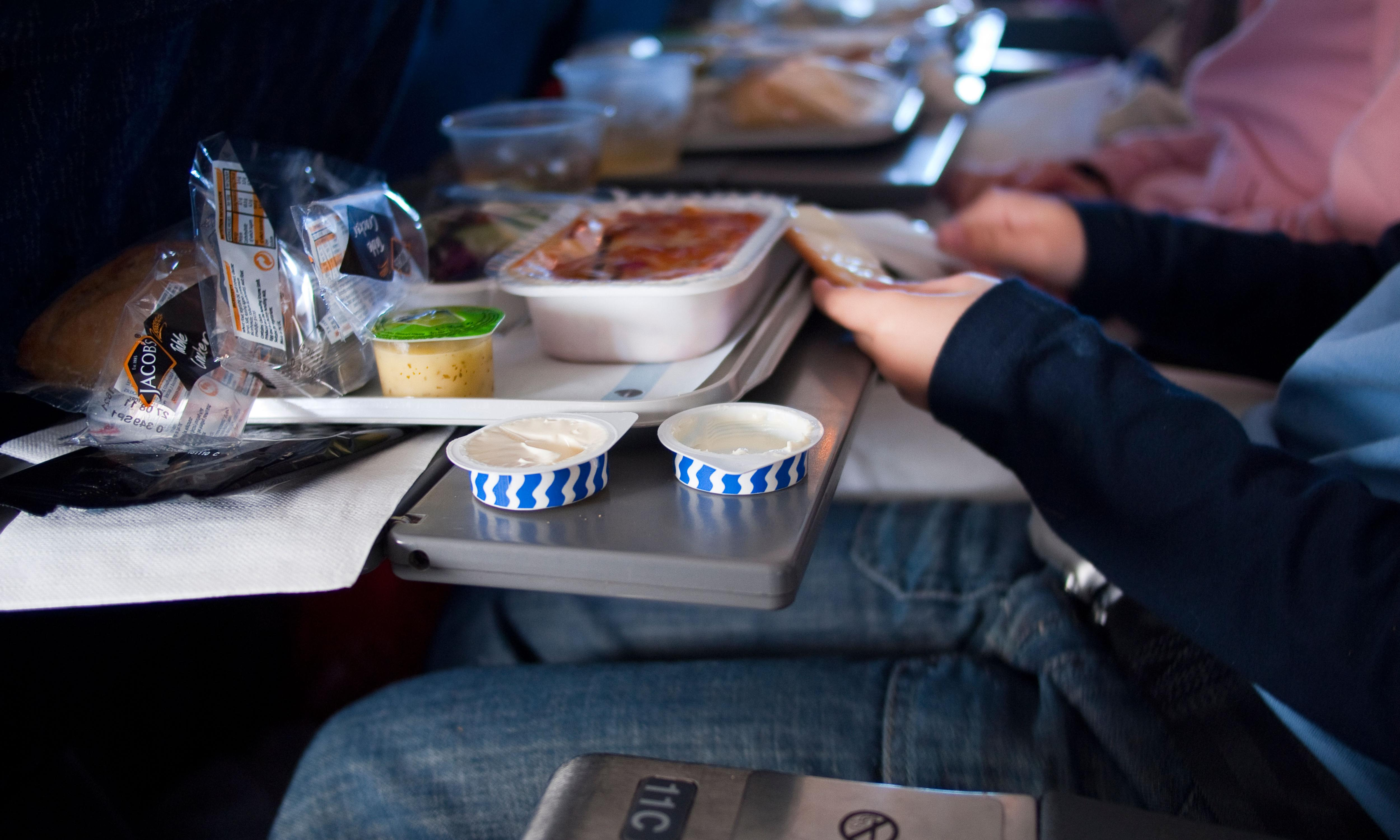 I enjoy airline food, but in a restaurant? Pass the sickbag