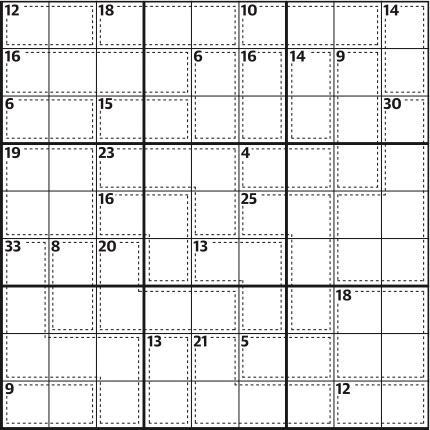Killer sudoku 647