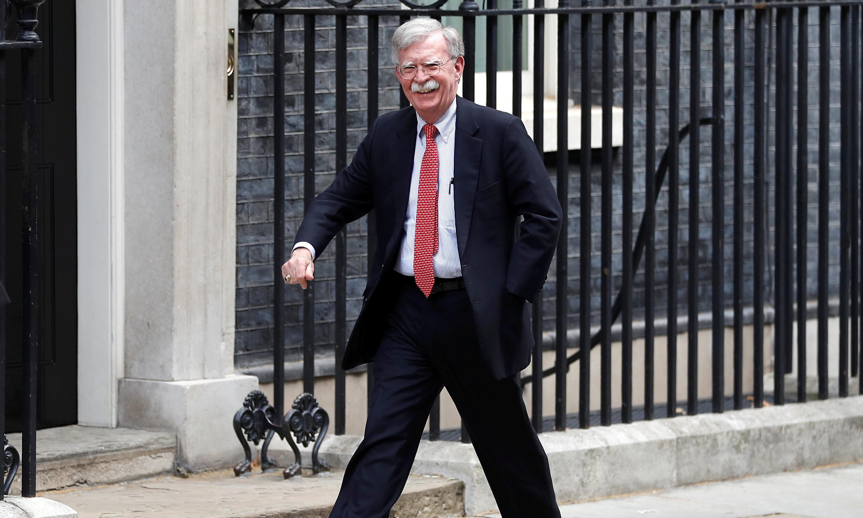 John Bolton doesn't want a trade deal with the UK – he wants to colonise us