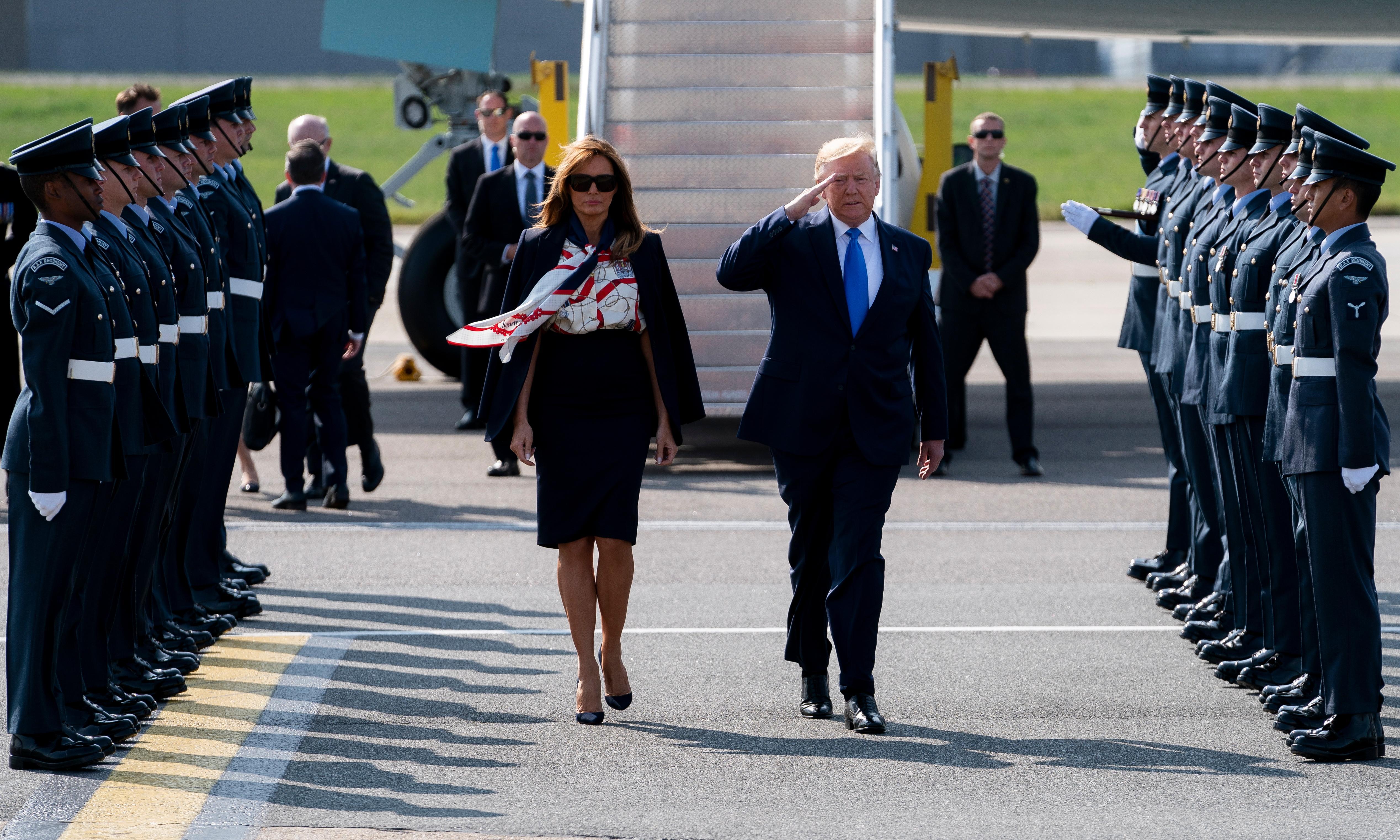 US briefing: Trump in Britain, Jared Kushner, and violence in Sudan