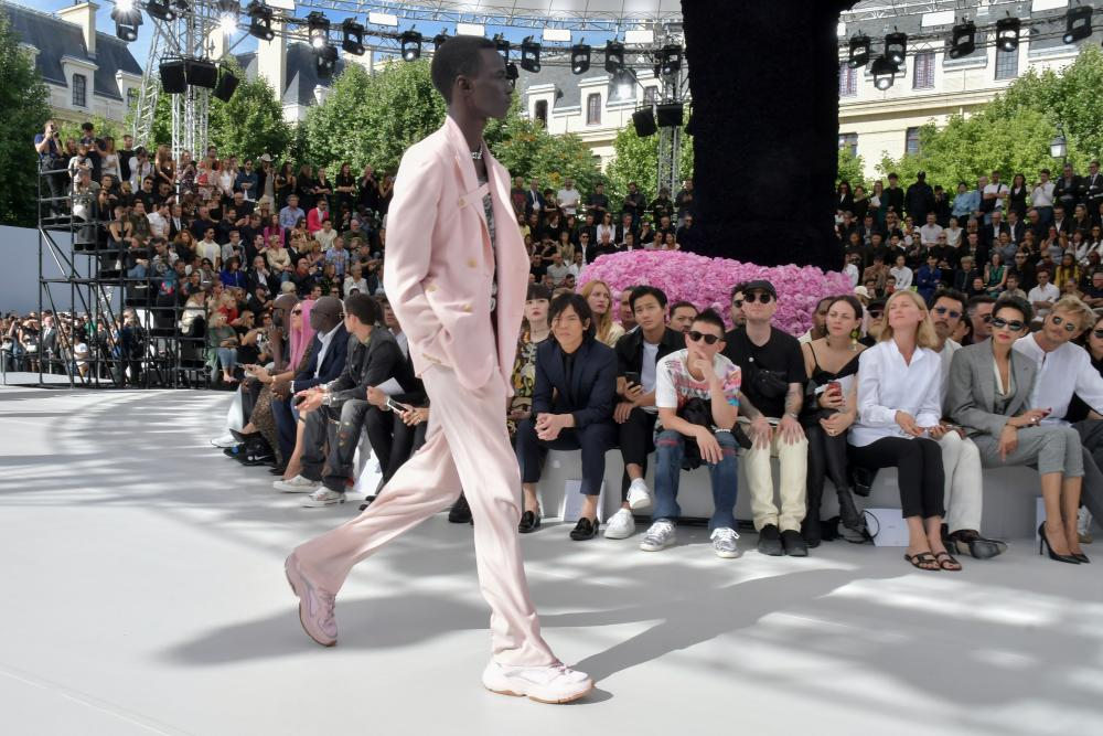 Dior Men runway, Paris fashion week.