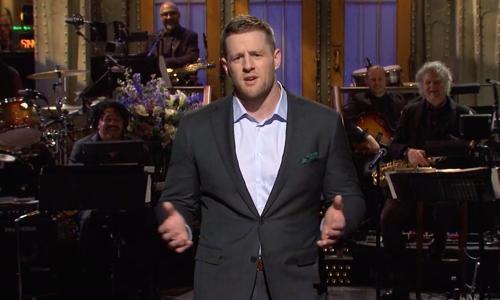 Saturday Night Live: JJ Watt hosts but like the Senate it's all a bit of a trial