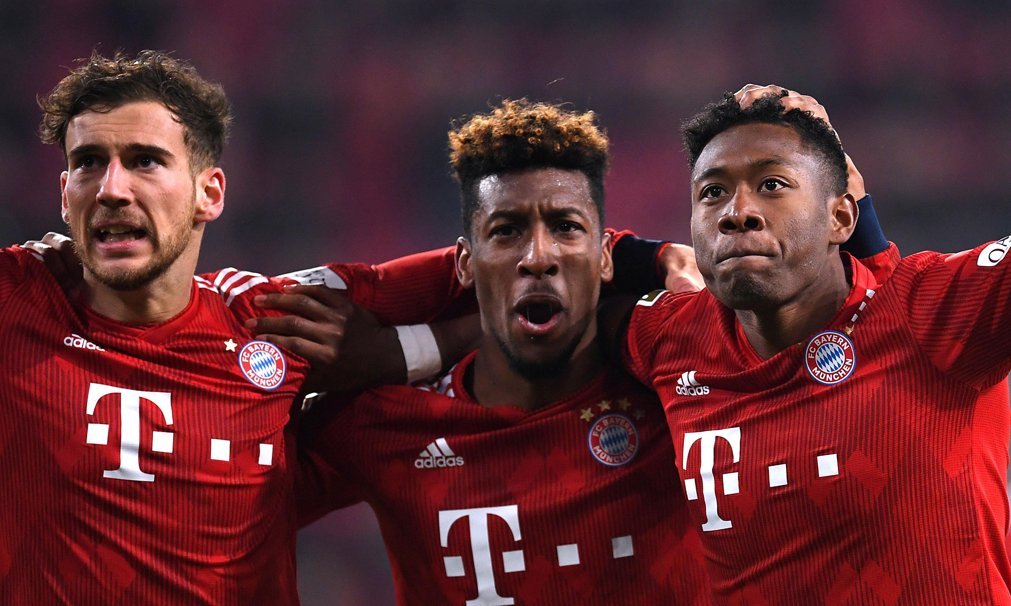 Bayern recover from 13-second own goal to beat Augsburg and close gap at top