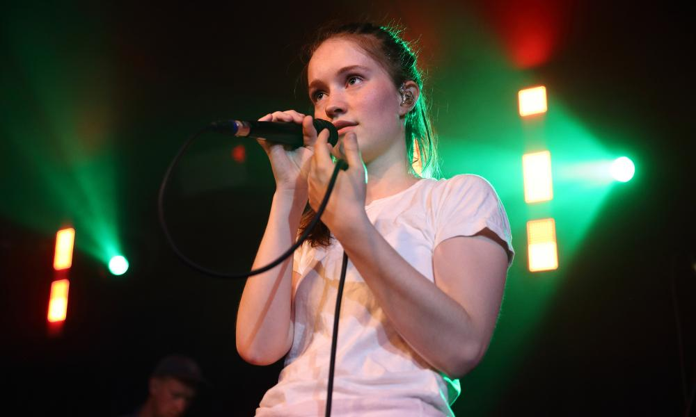 Performing at the Hoxton Square Bar & Kitchen last year.