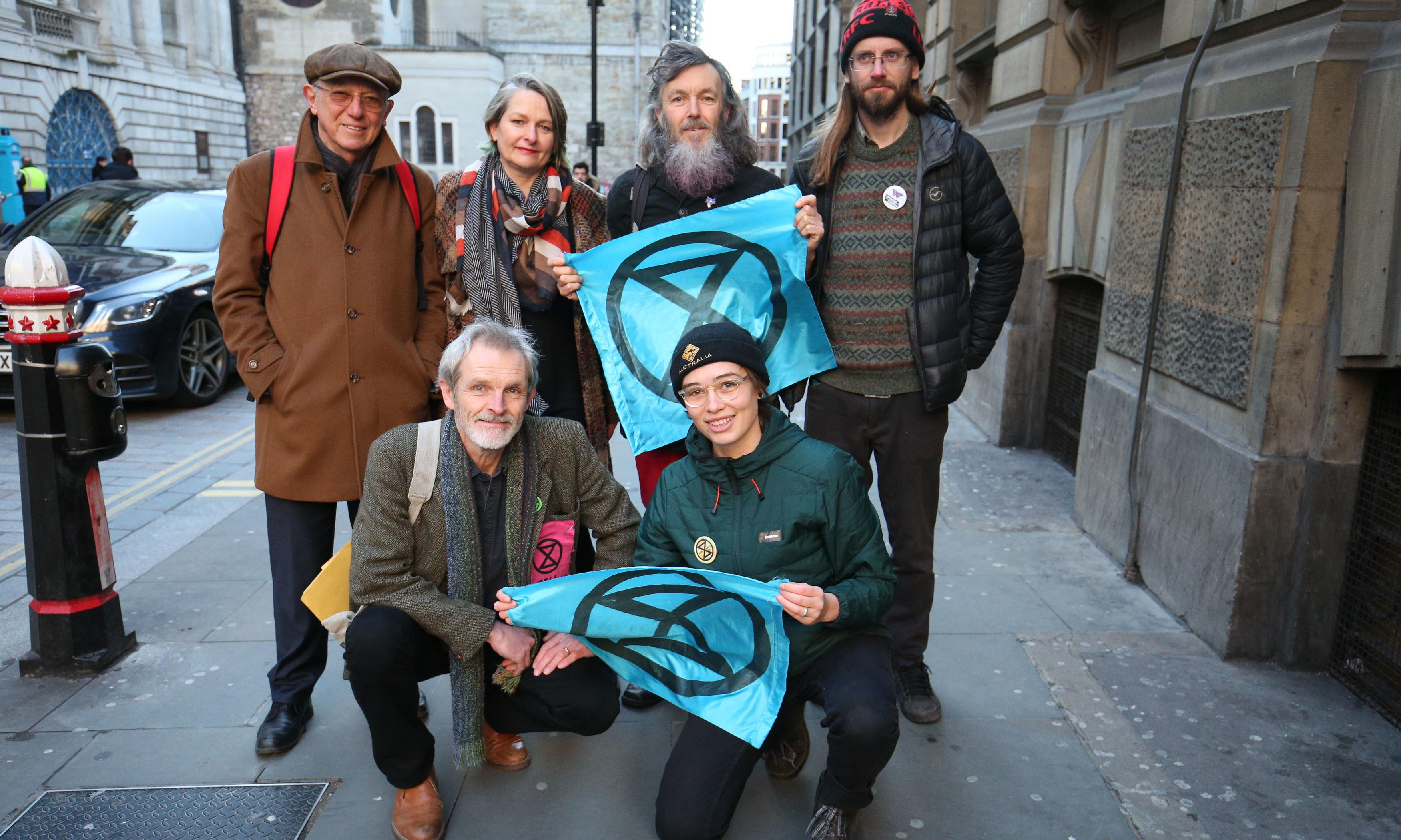 Extinction Rebellion: charges against five protesters dismissed