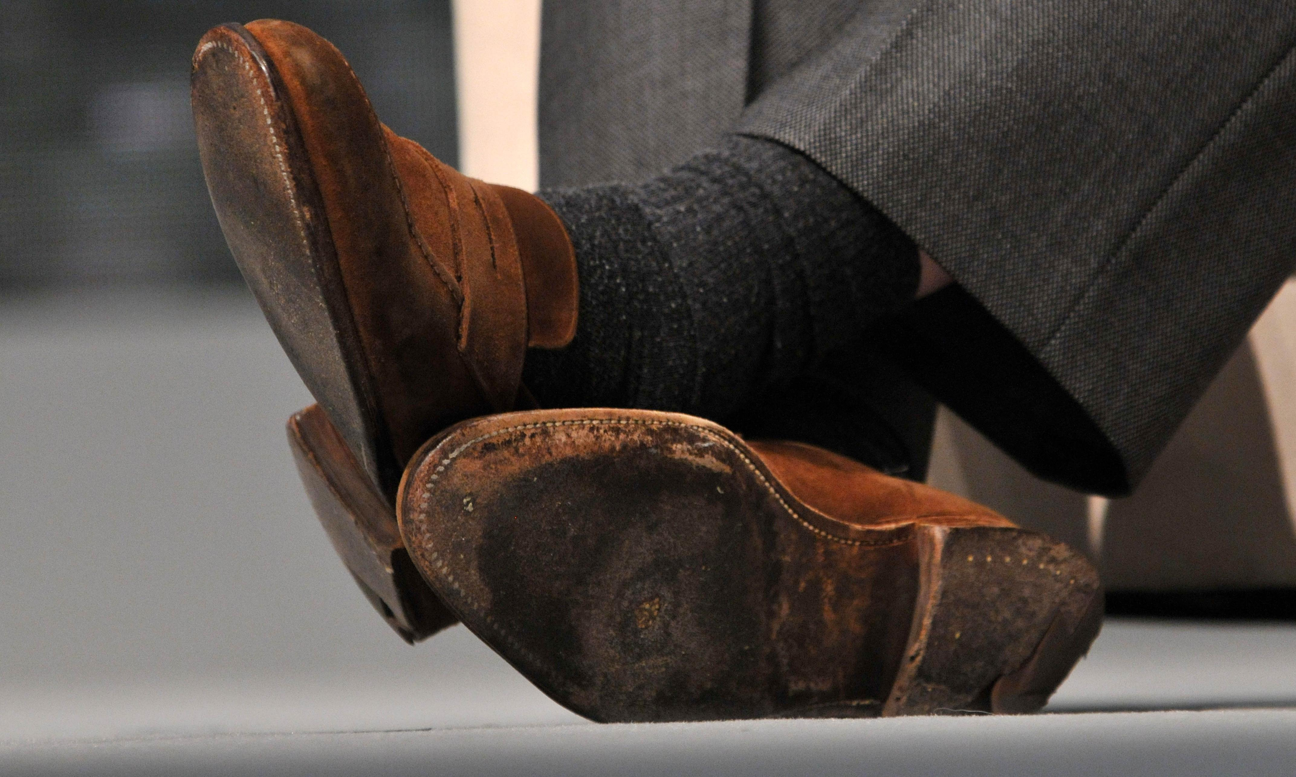 Why does the City hate brown shoes?