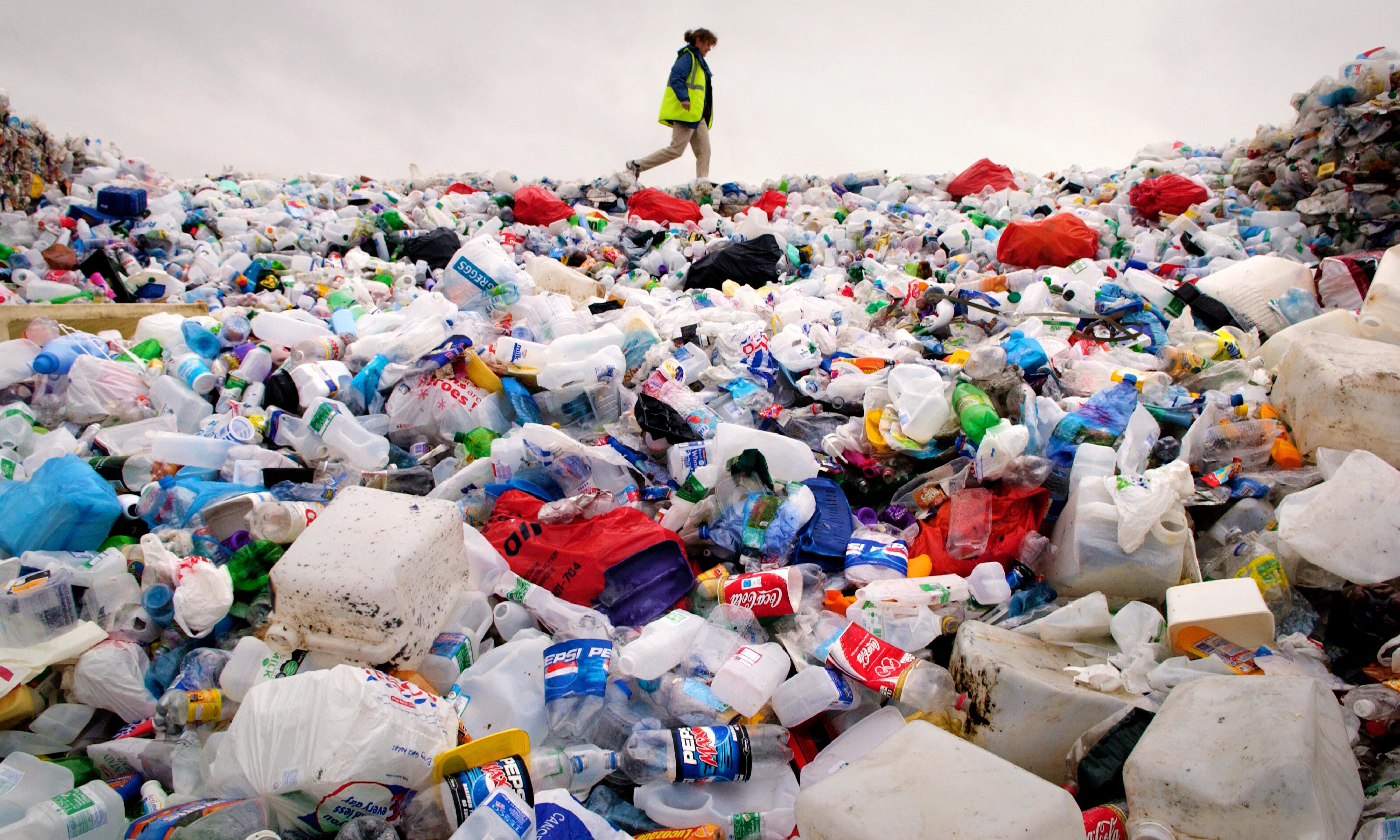 I collected my plastic waste for a year, and learned the truth about recycling